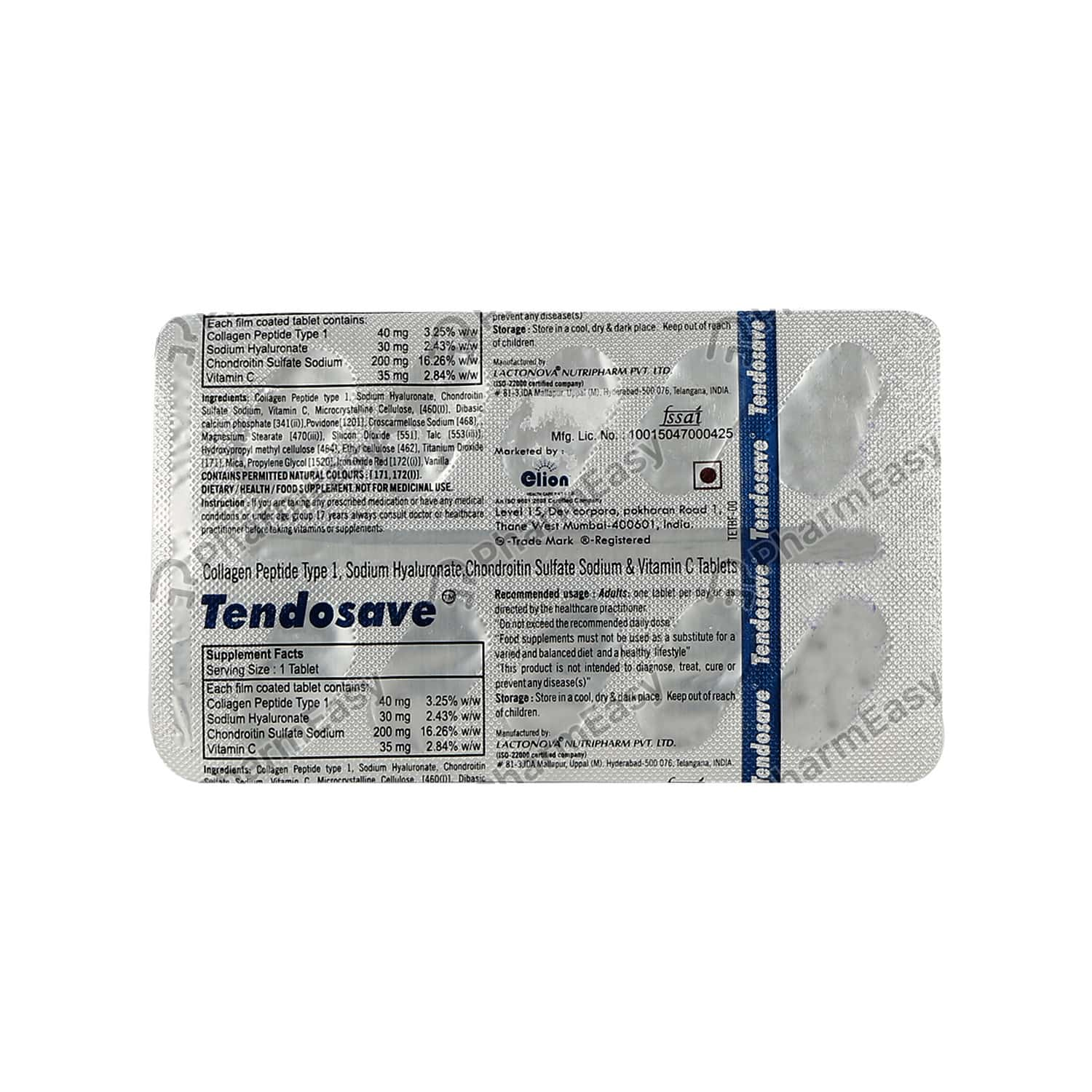 Tendosave Tablet