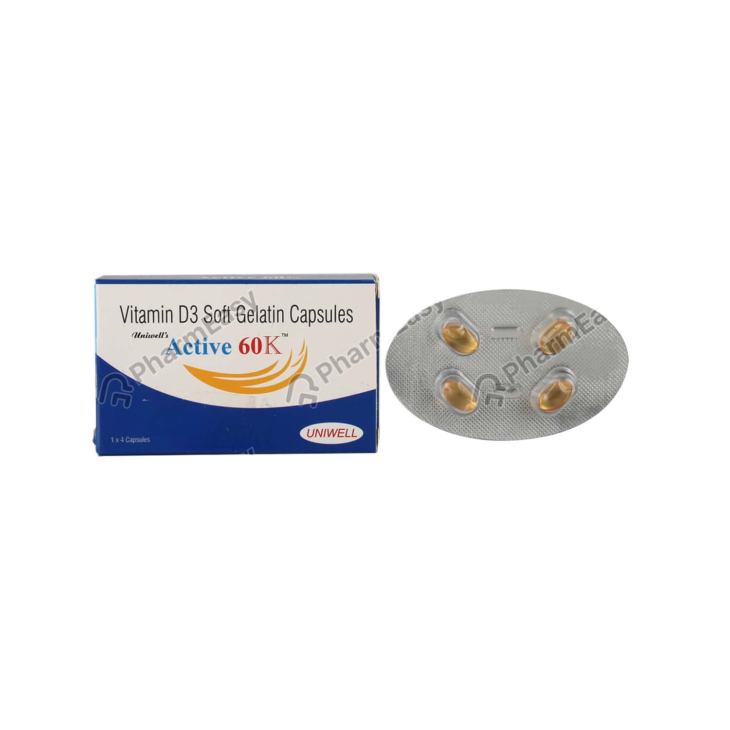 Active 60k Strip Of 4 Capsules