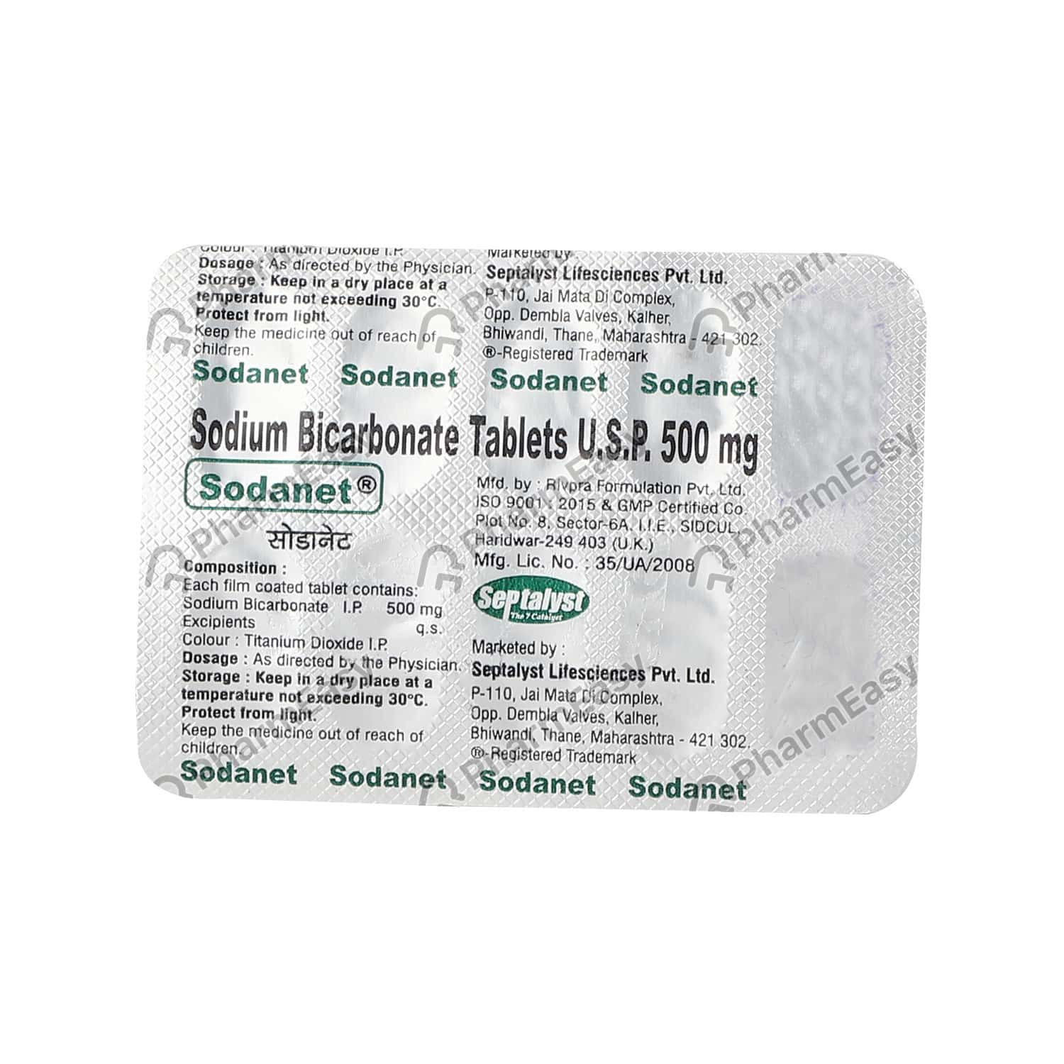 Sodanet 500mg Tablet