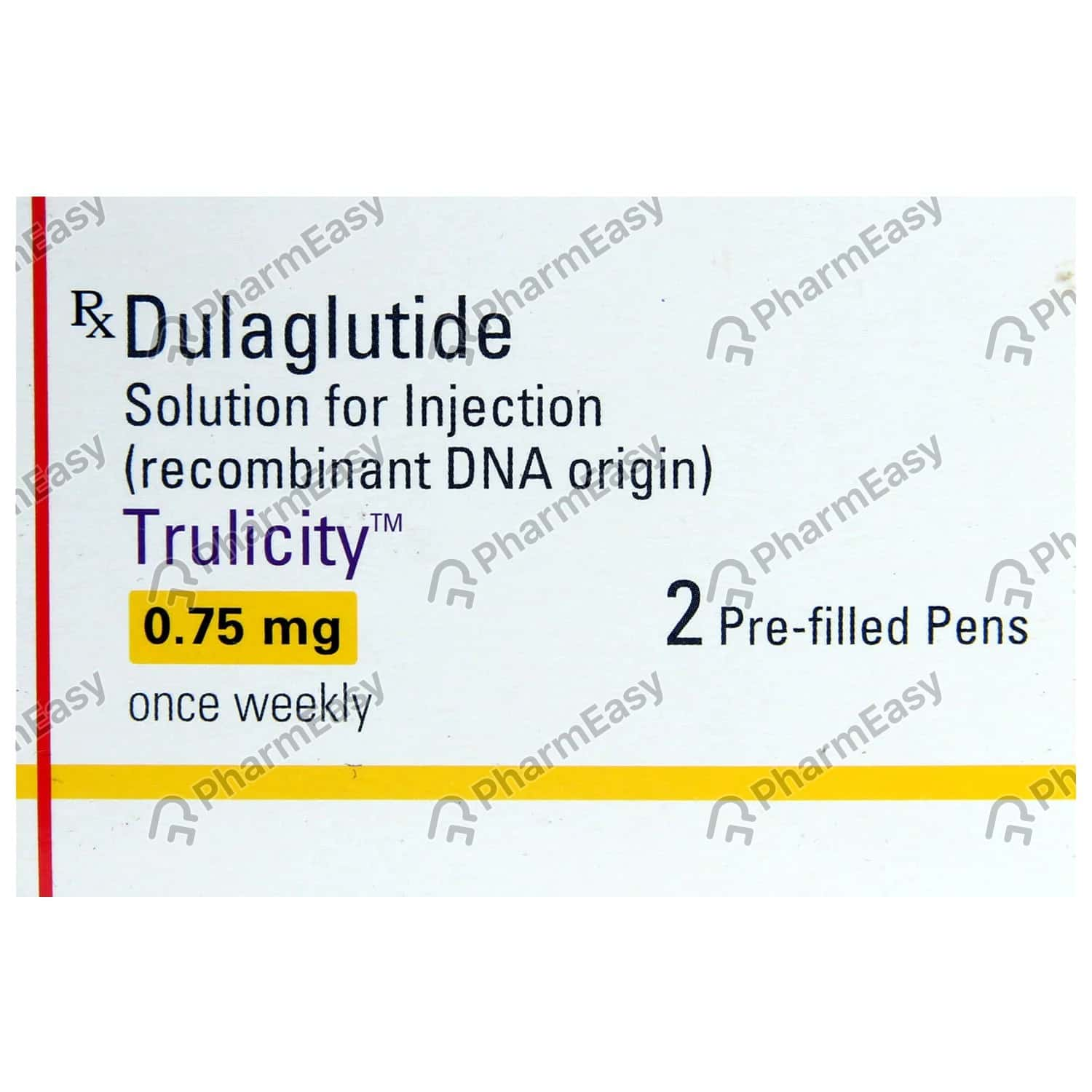 Trulicity 0.75mg Pre Filled Pen Of 2*0.5ml Solution For Injection