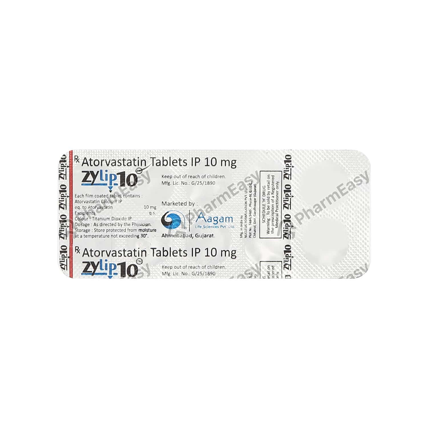 Zylip 10mg Tablet