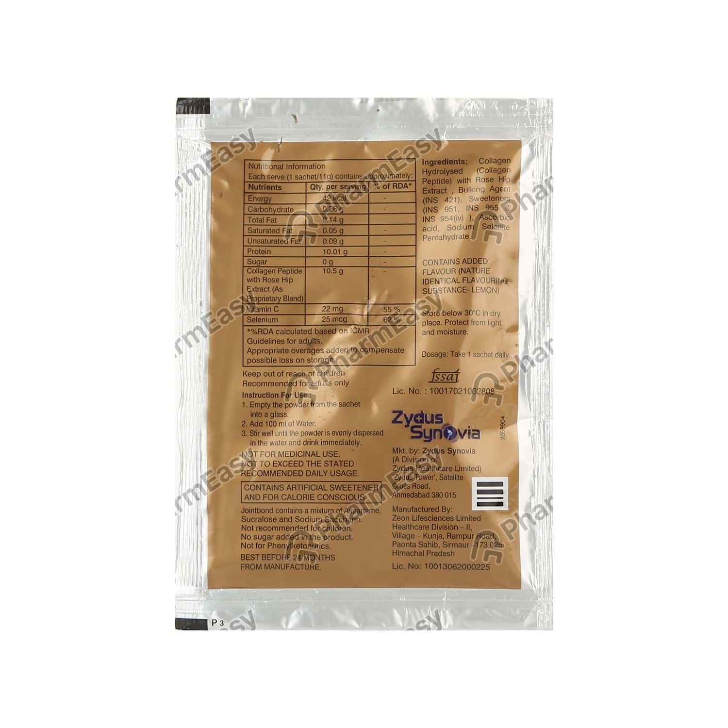Jointbond Sachet Of 11gm Oral Powder