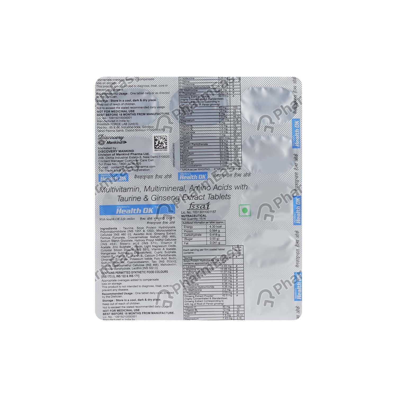 Health Ok Tablet 15's