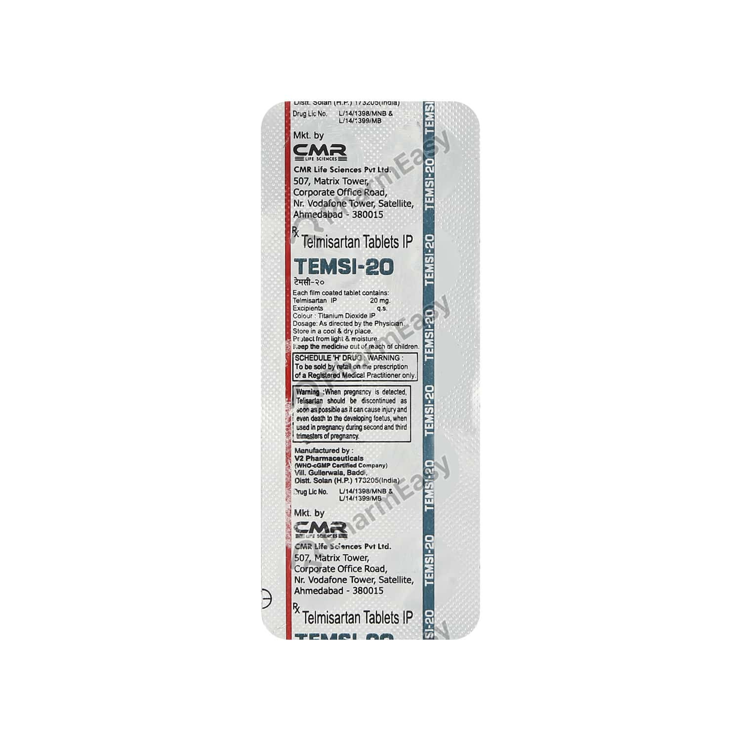 Temsi 20mg Tablet