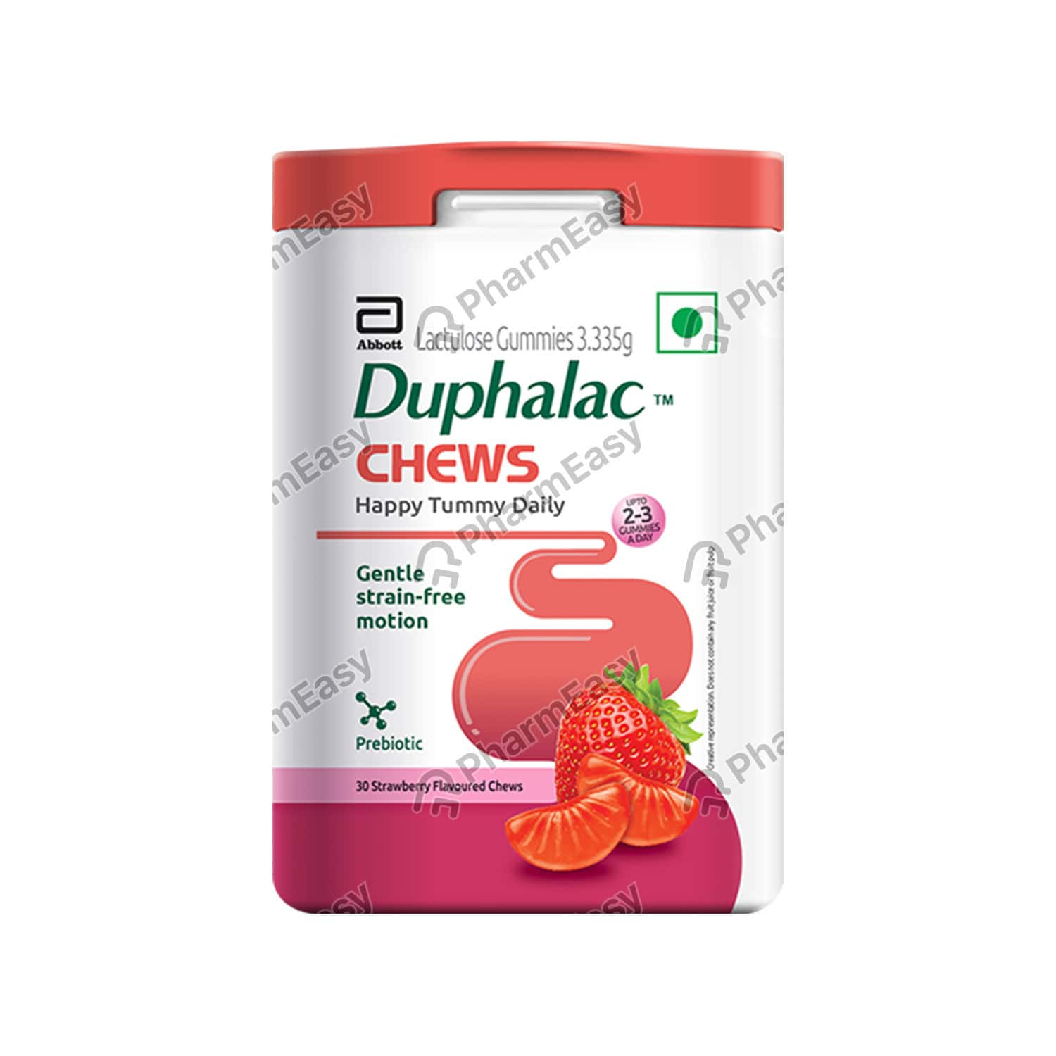 Duphalac Strawberry Flavour Packet Of 30 Chewable Gummies