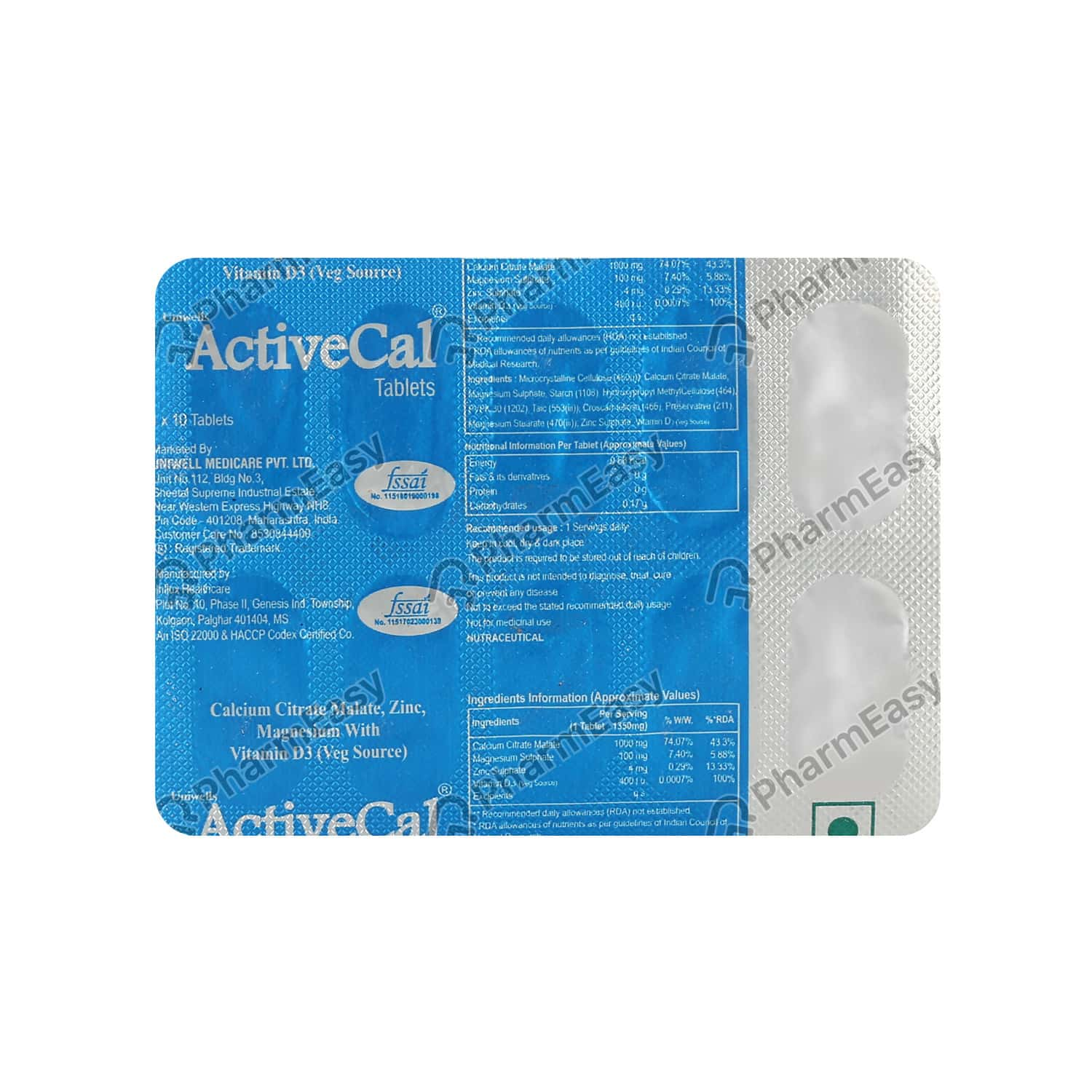 Activecal Tablet