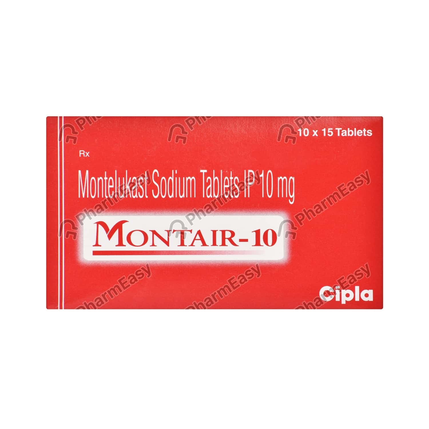 Montair 10mg Strip Of 15 Tablets