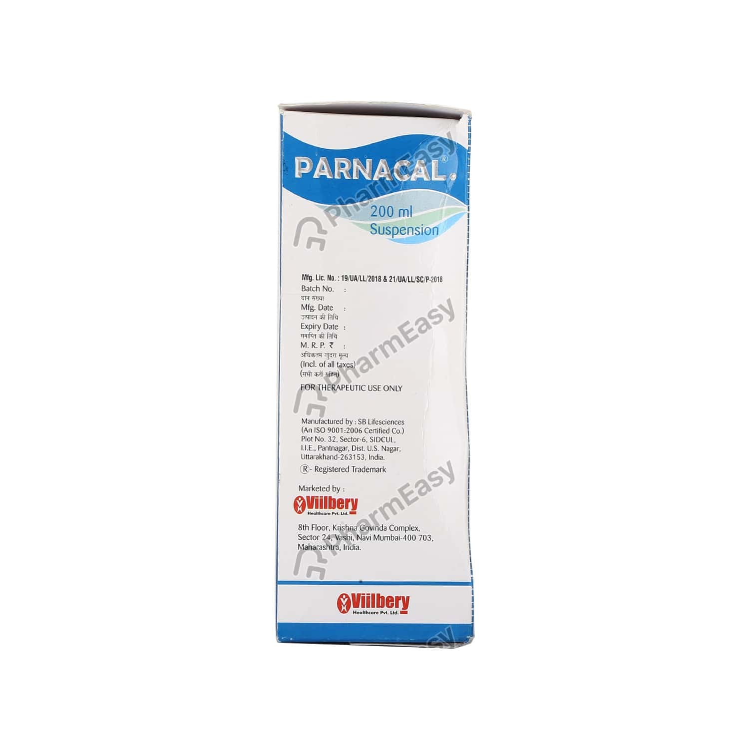 Parnacal Susp 200ml