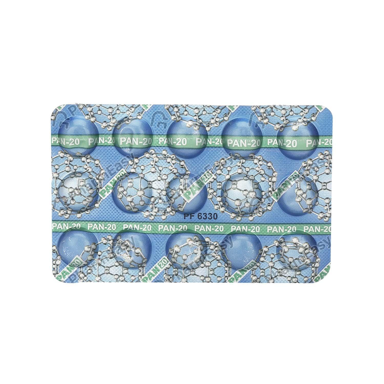 Pan 20mg Strip Of 15 Tablets