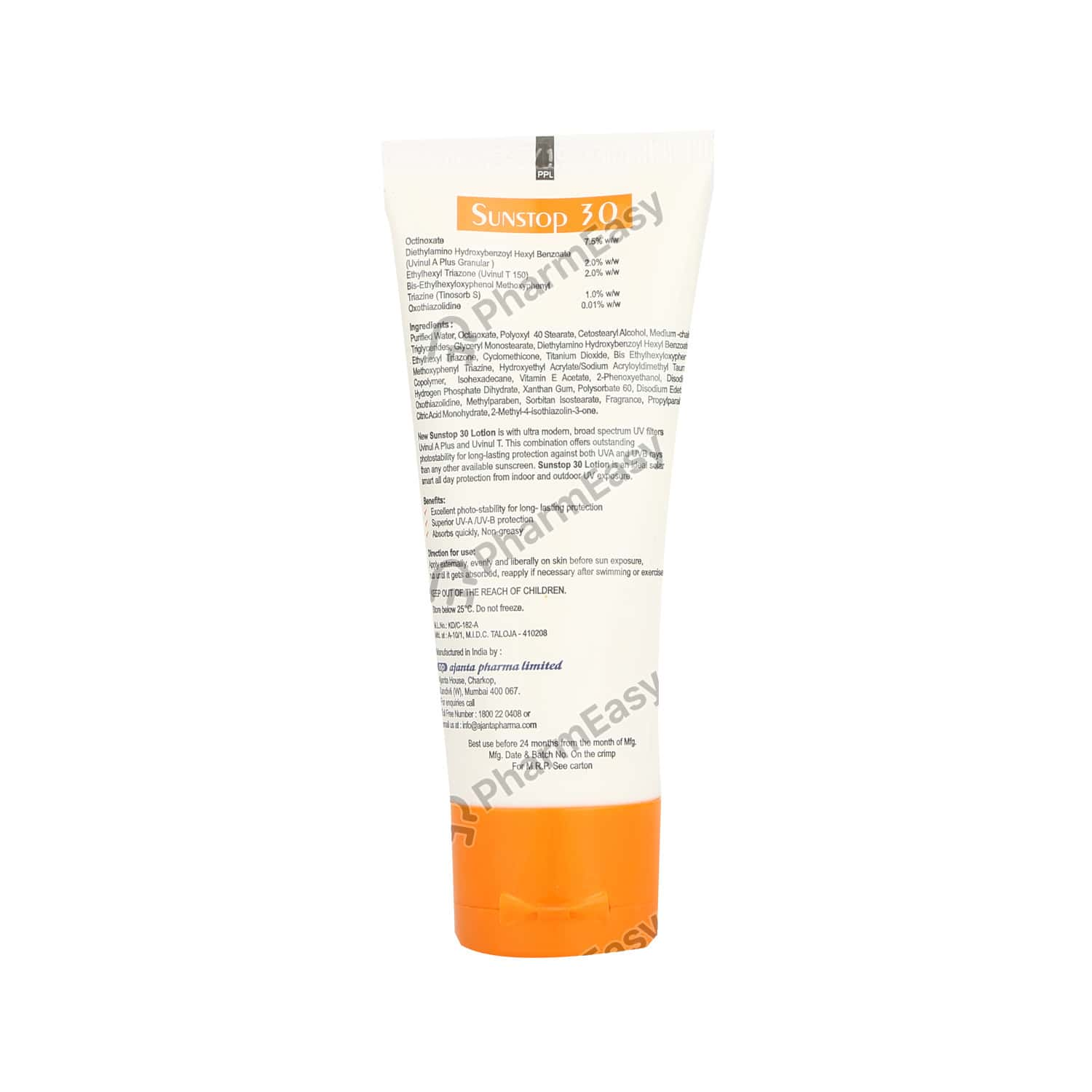 Sunstop 30 Sunscreen Lotion 60gm