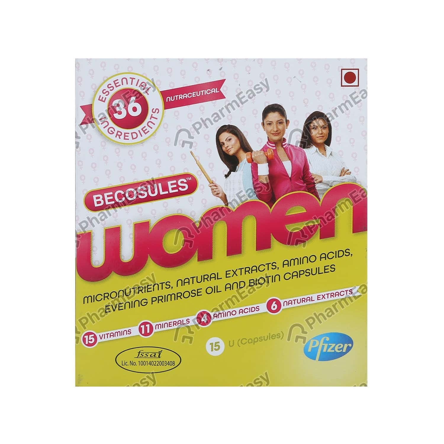 Becosules Women Strip Of 15 Capsules