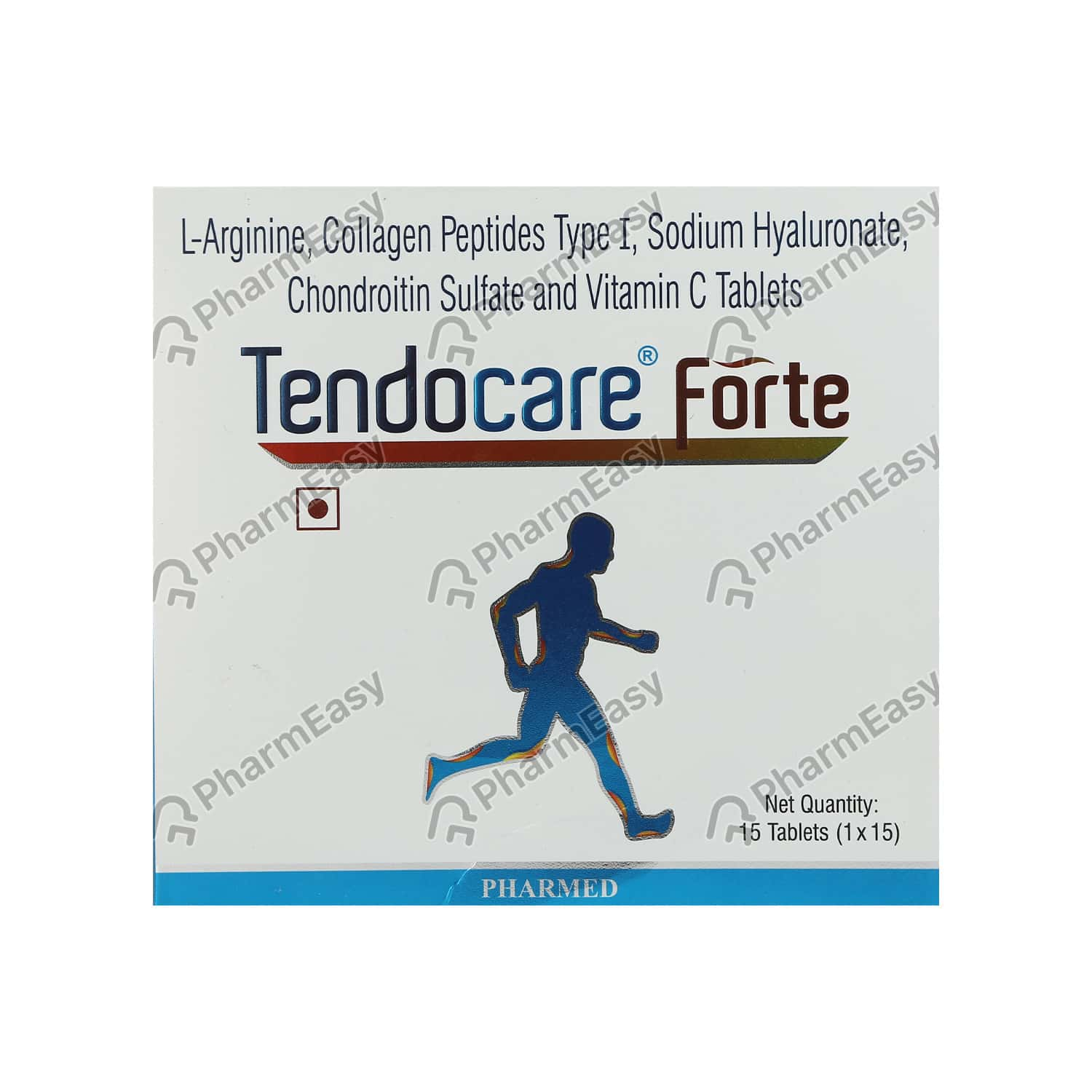 Tendocare Forte Strip Of 15 Tablets