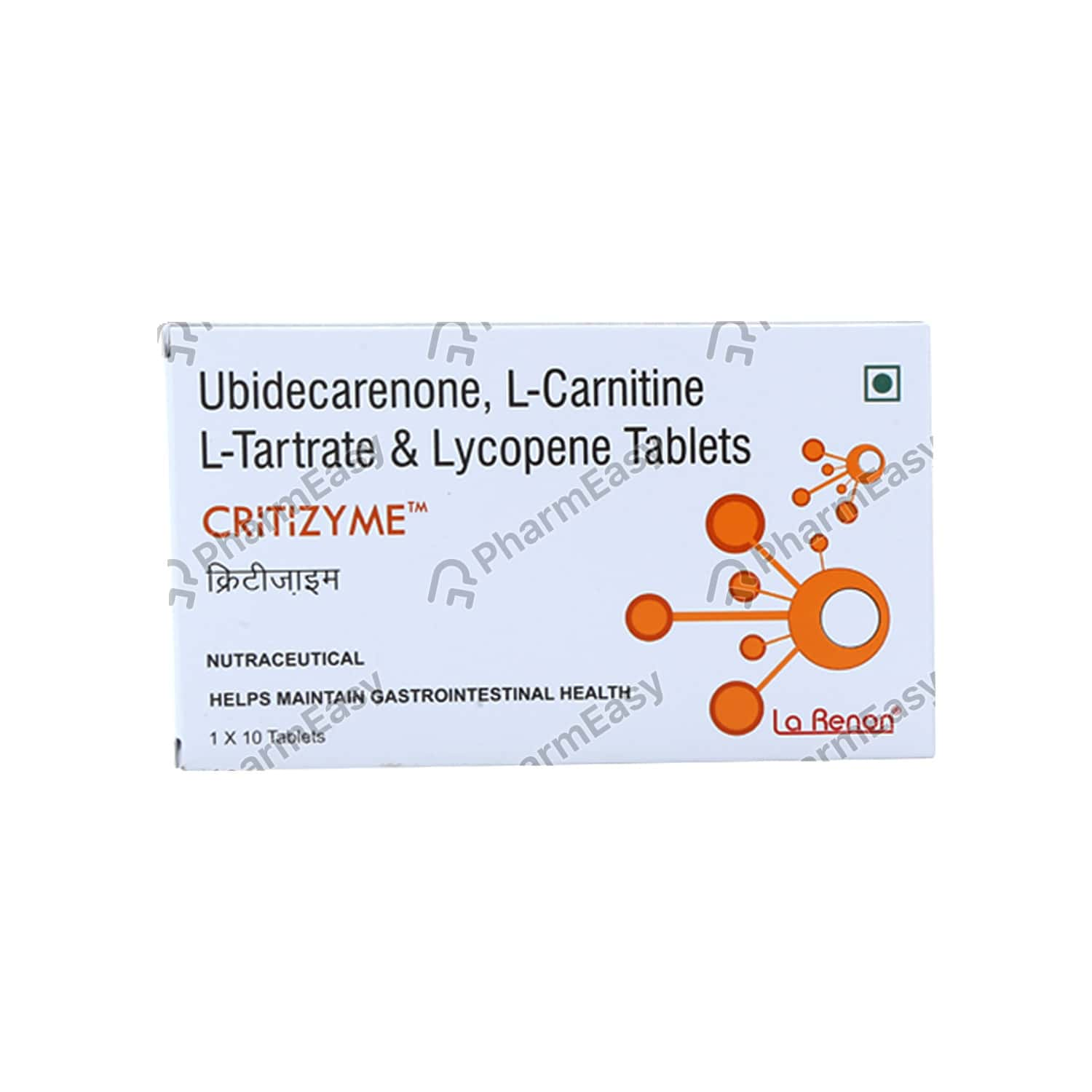 Critizyme Strip Of 10 Tablets