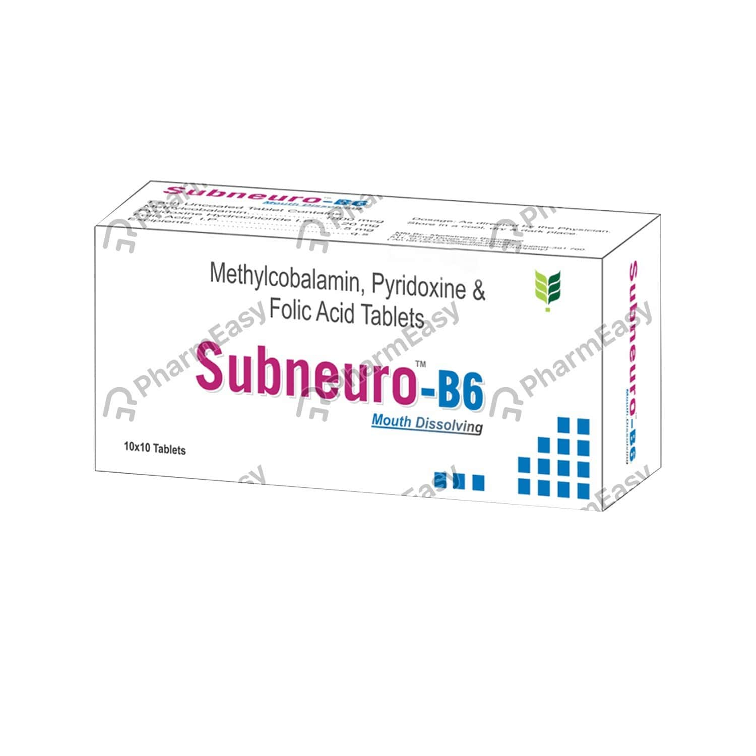 Subneuro B6 Strip Of 10 Tablets