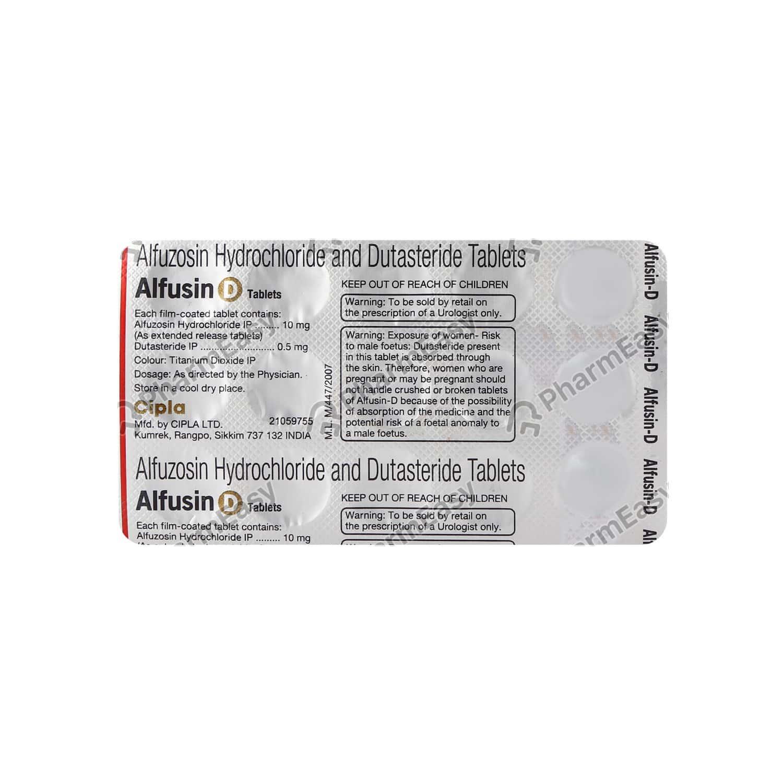 Alfusin D Strip Of 15 Tablets