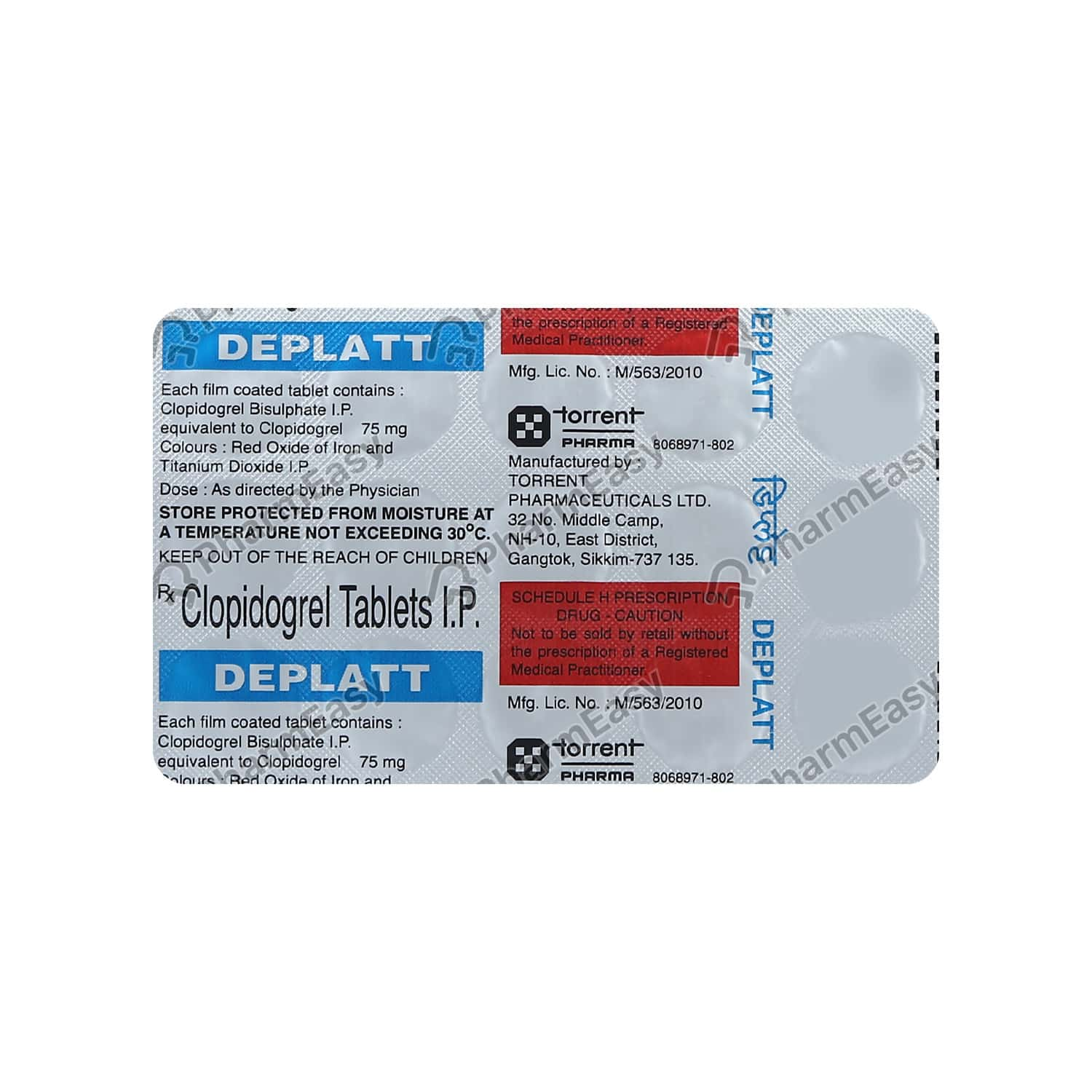 Deplatt 75mg Strip Of 15 Tablets