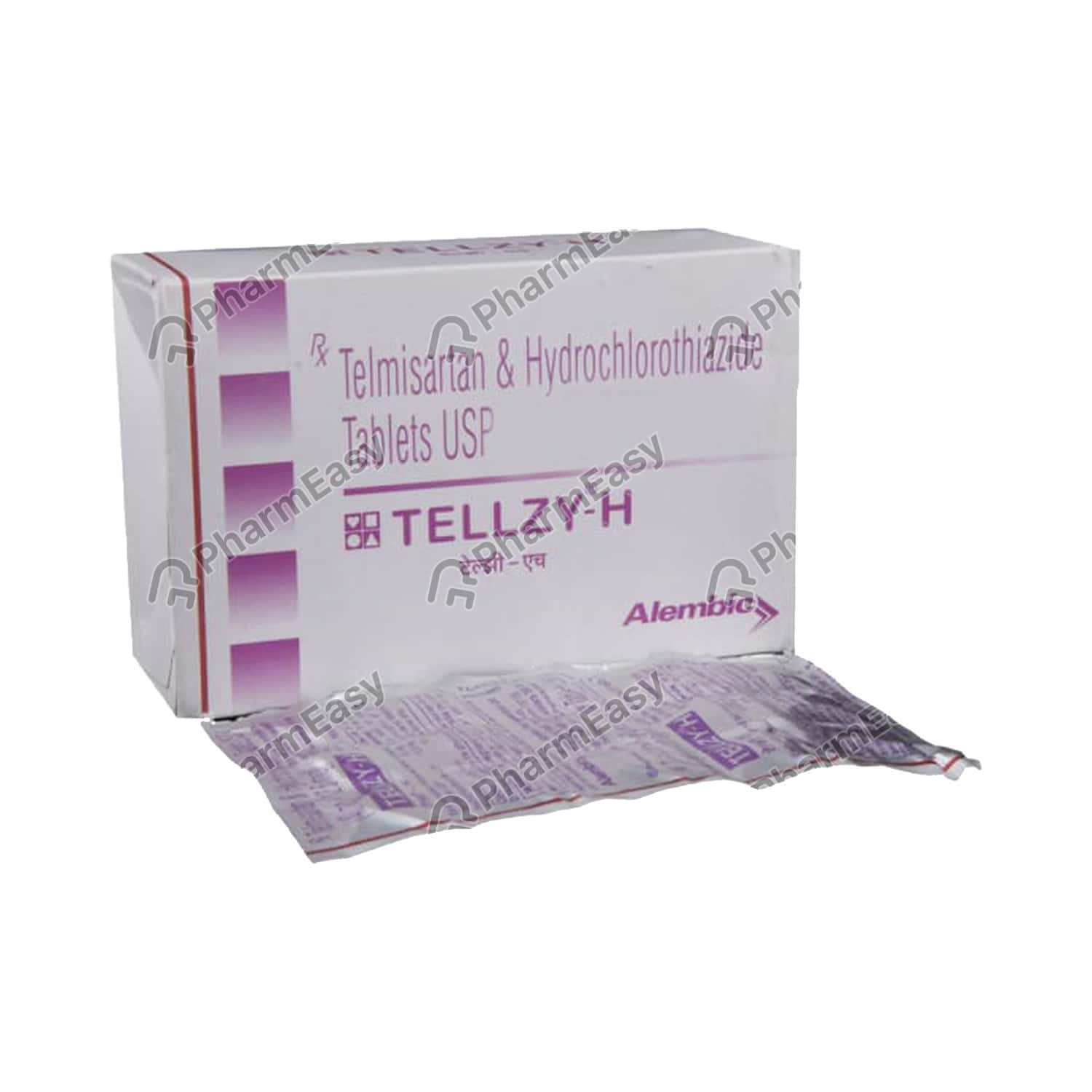 Tellzy H 40mg Strip Of 15 Tablets