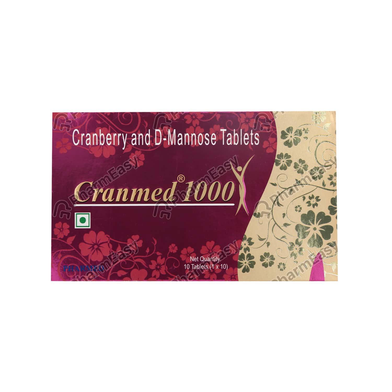 Cranmed 1000mg Tablet 10's