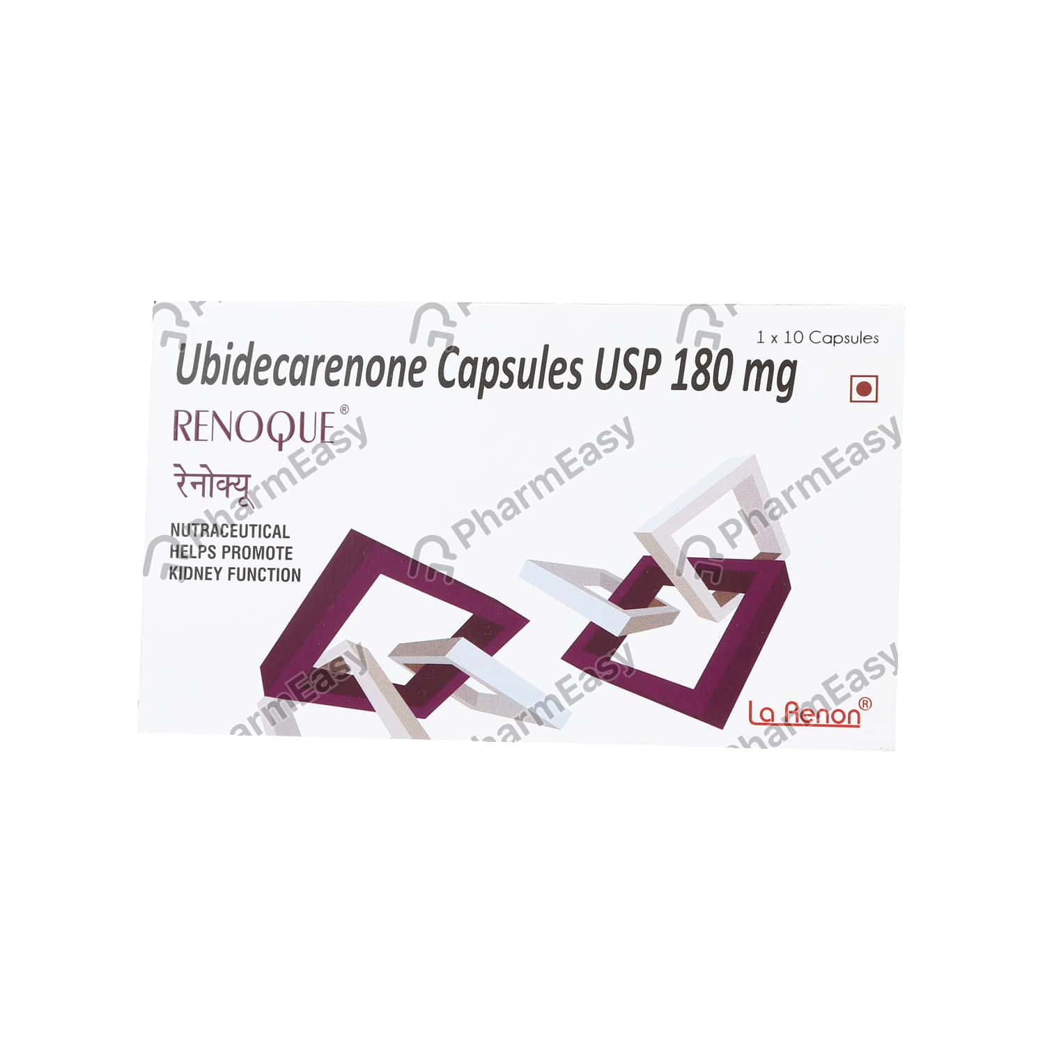 Renoque Strip Of 10 Capsules