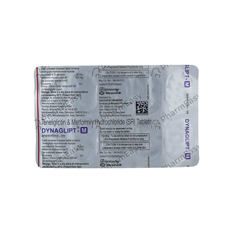 Dynaglipt M Strip Of 10 Tablets