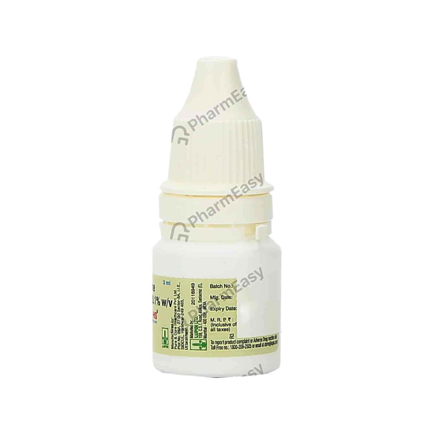 Hydroeyes Hs Eye Drops 3ml