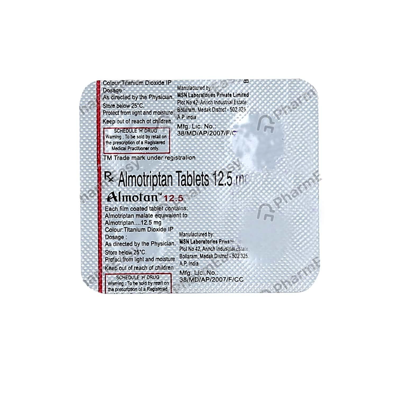 Almotan 12.5mg Strip Of 4 Tablets