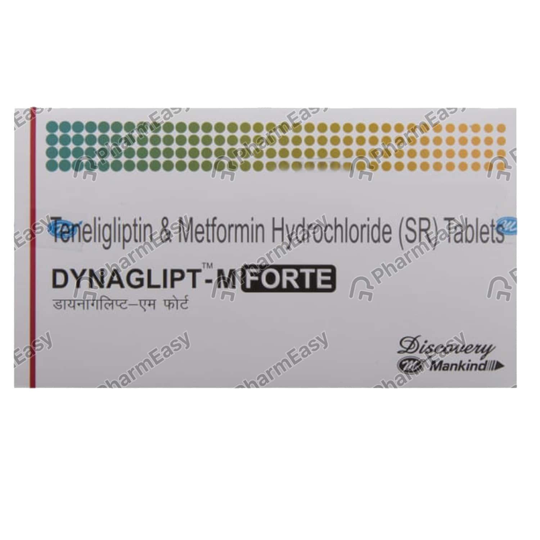 Dynaglipt M Forte Strip Of 10 Tablets