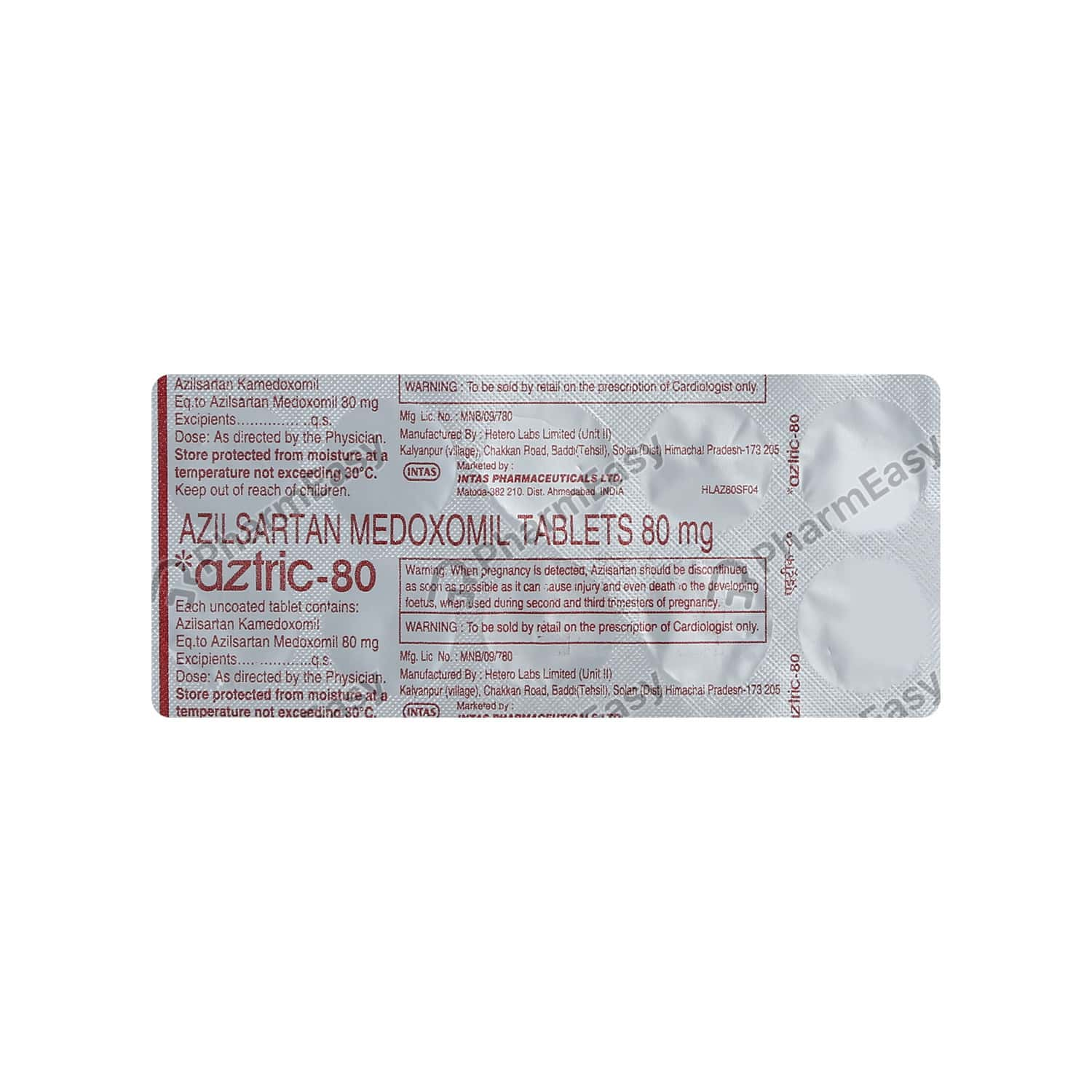 Aztric 80 Strip Of 10 Tablets
