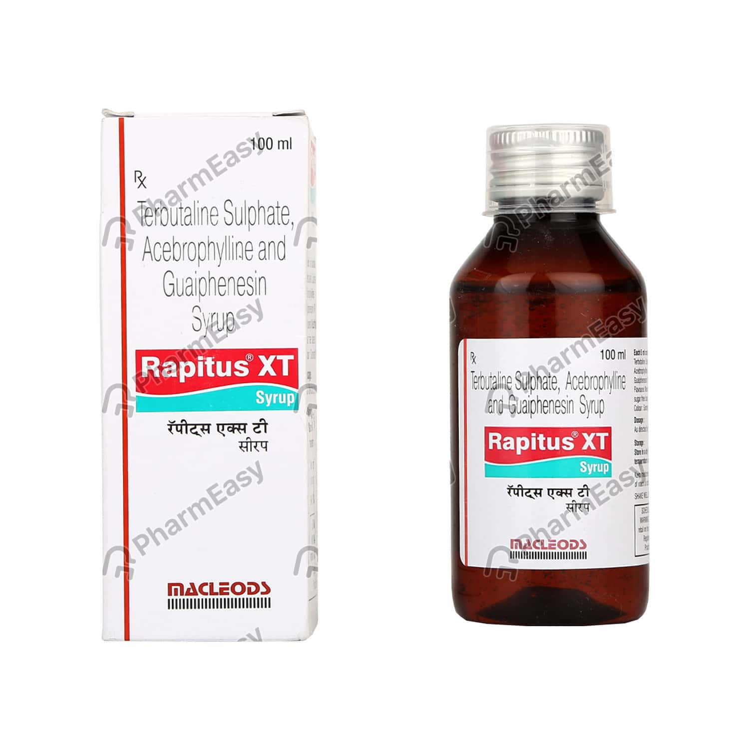 Buy Rapitus Xt Syrup 100ml Online At Flat 18 Off Pharmeasy