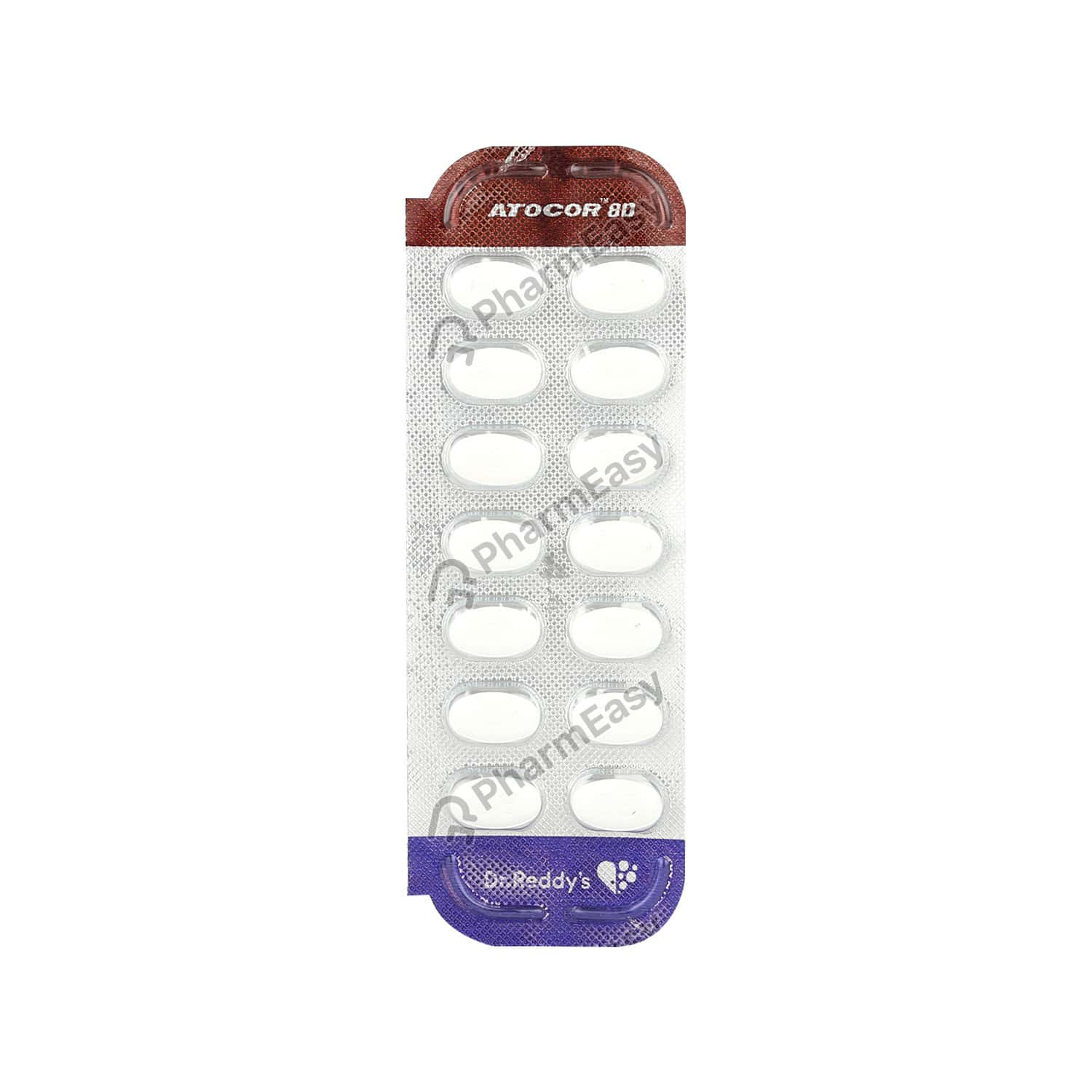 Atocor 80 Strip Of 14 Tablets