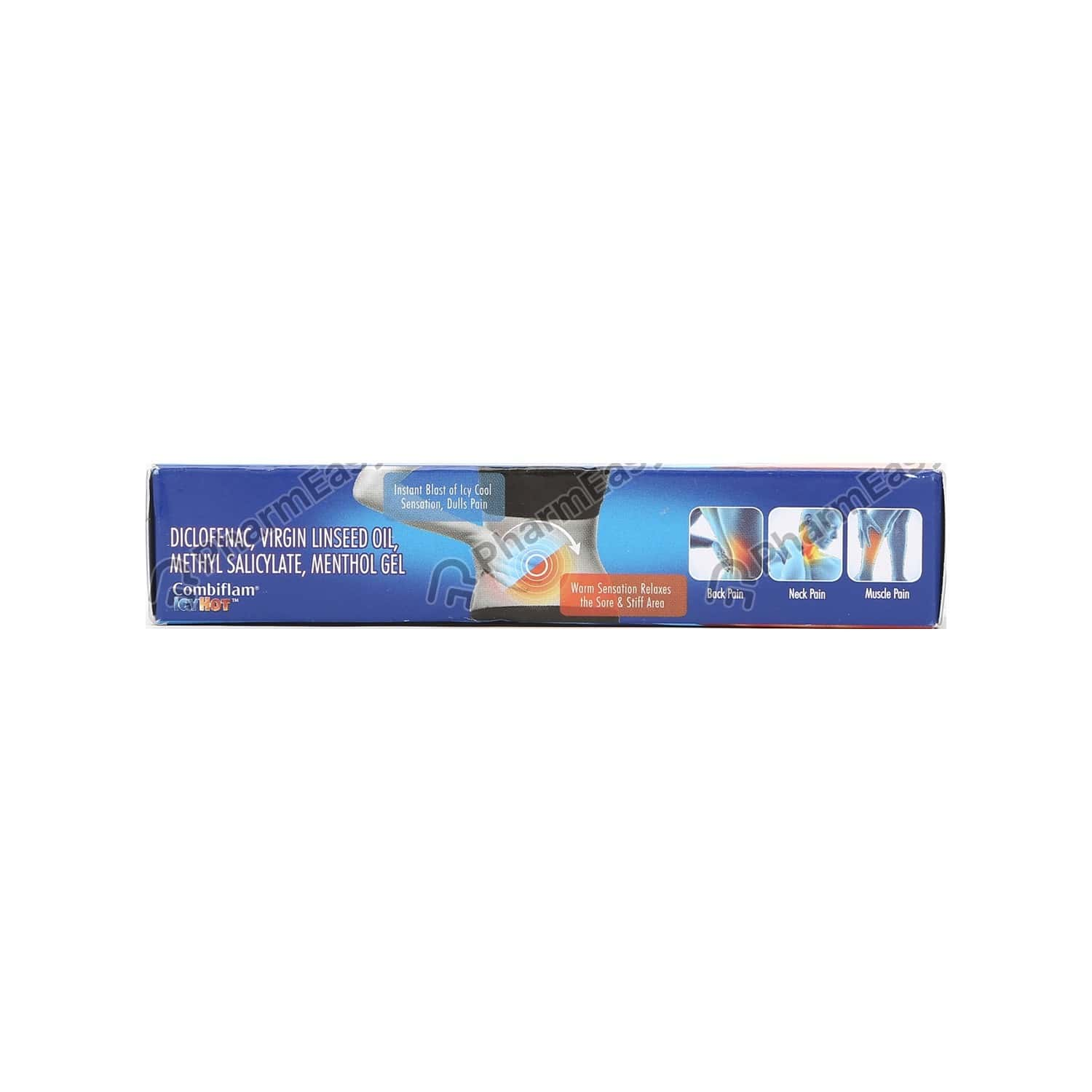 Combiflam Icyhot Fast Pain Relief Gel - 15 Gms Tube