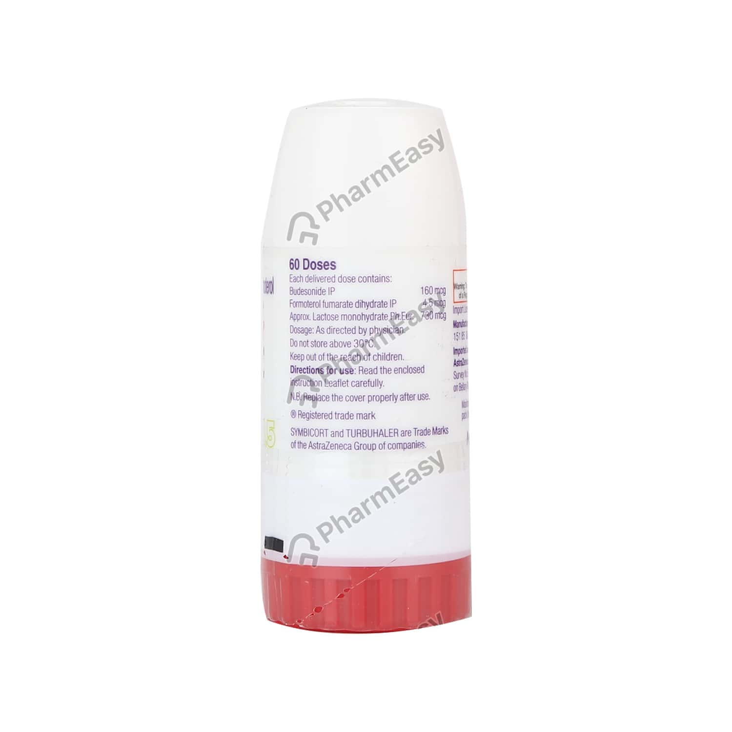 Symbicort Turbuhaler 160 4 5 Inhaler 60md Uses Side Effects Dosage Composition Price Pharmeasy