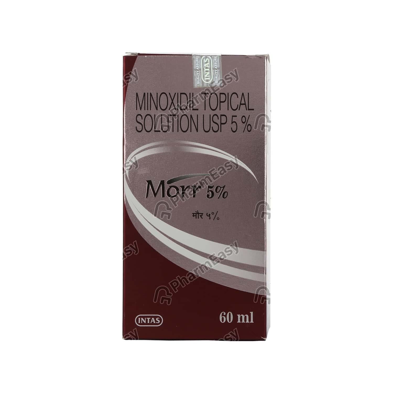 Morr 5% Bottle Of 60ml Solution
