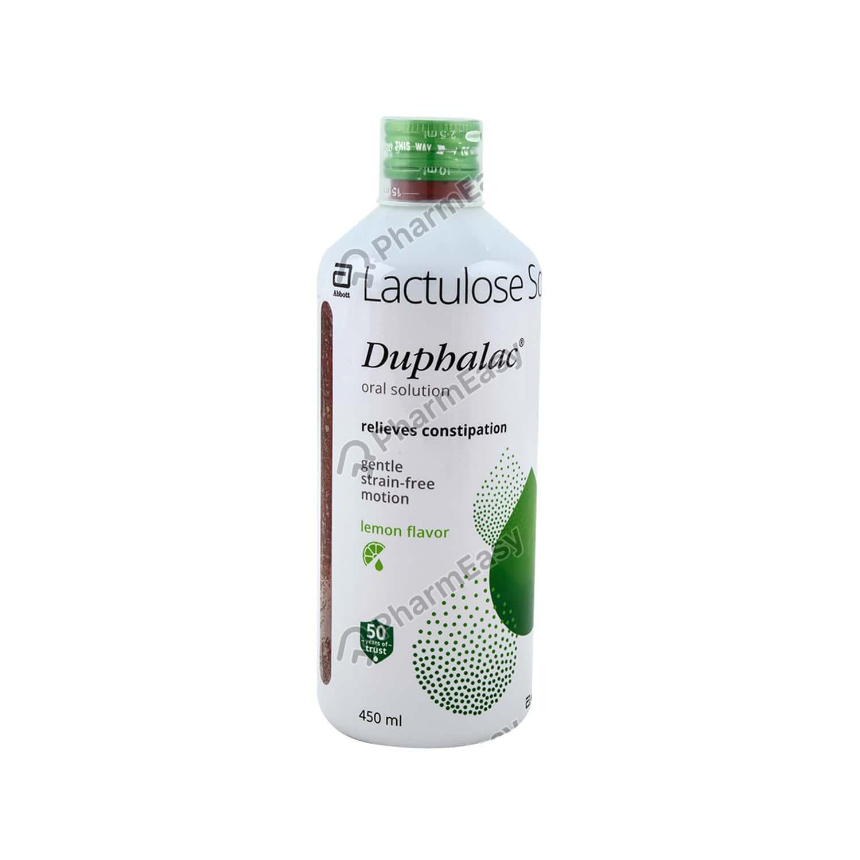 Duphalac Lemon Flavour Solution 450ml