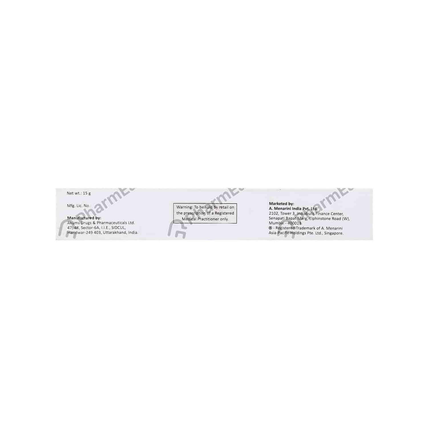 Heximar 50 Mcg Ointment 15 Gm