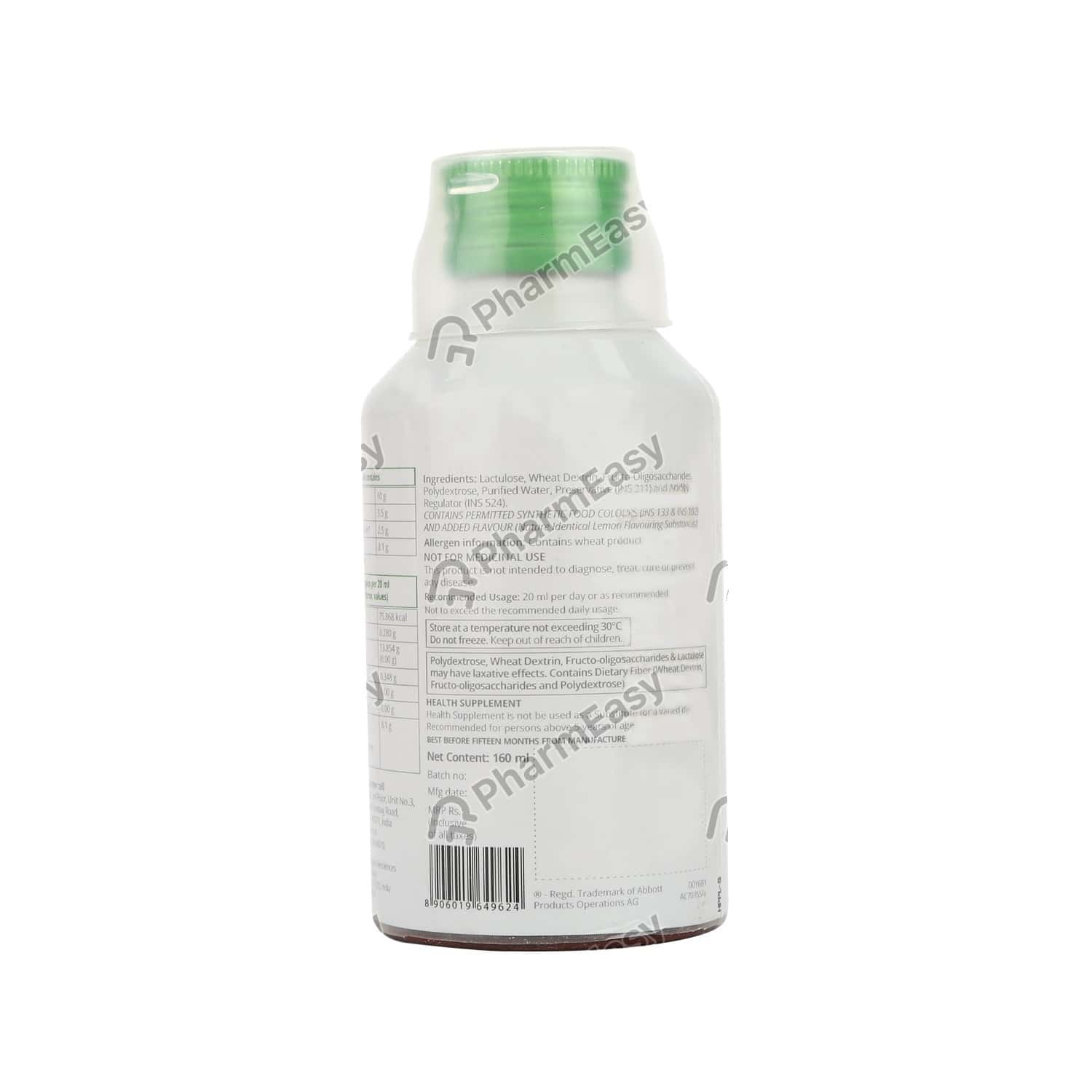 Duphalac Lemon Flavour Bottle Of 160ml Bulk Solution