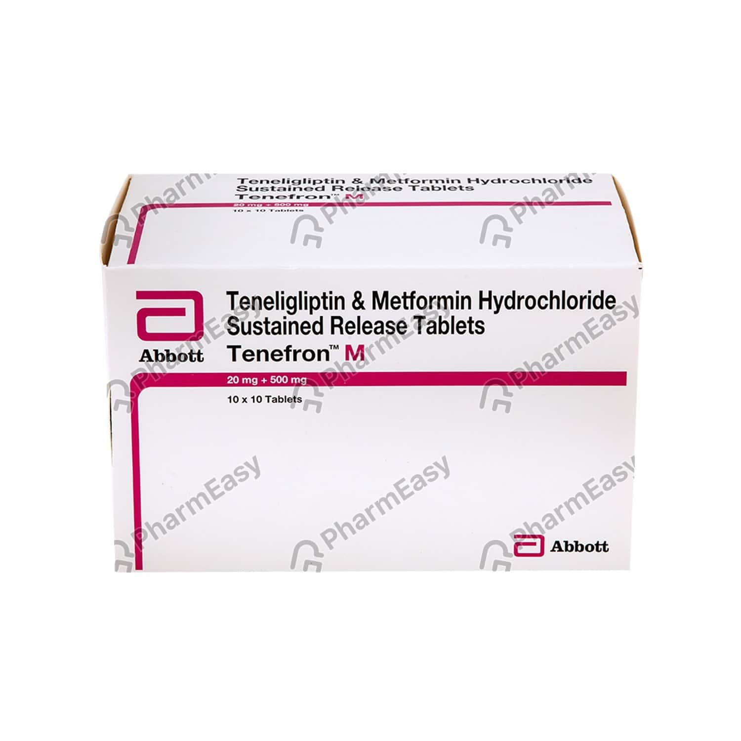 Tenefron M Strip Of 10 Tablets