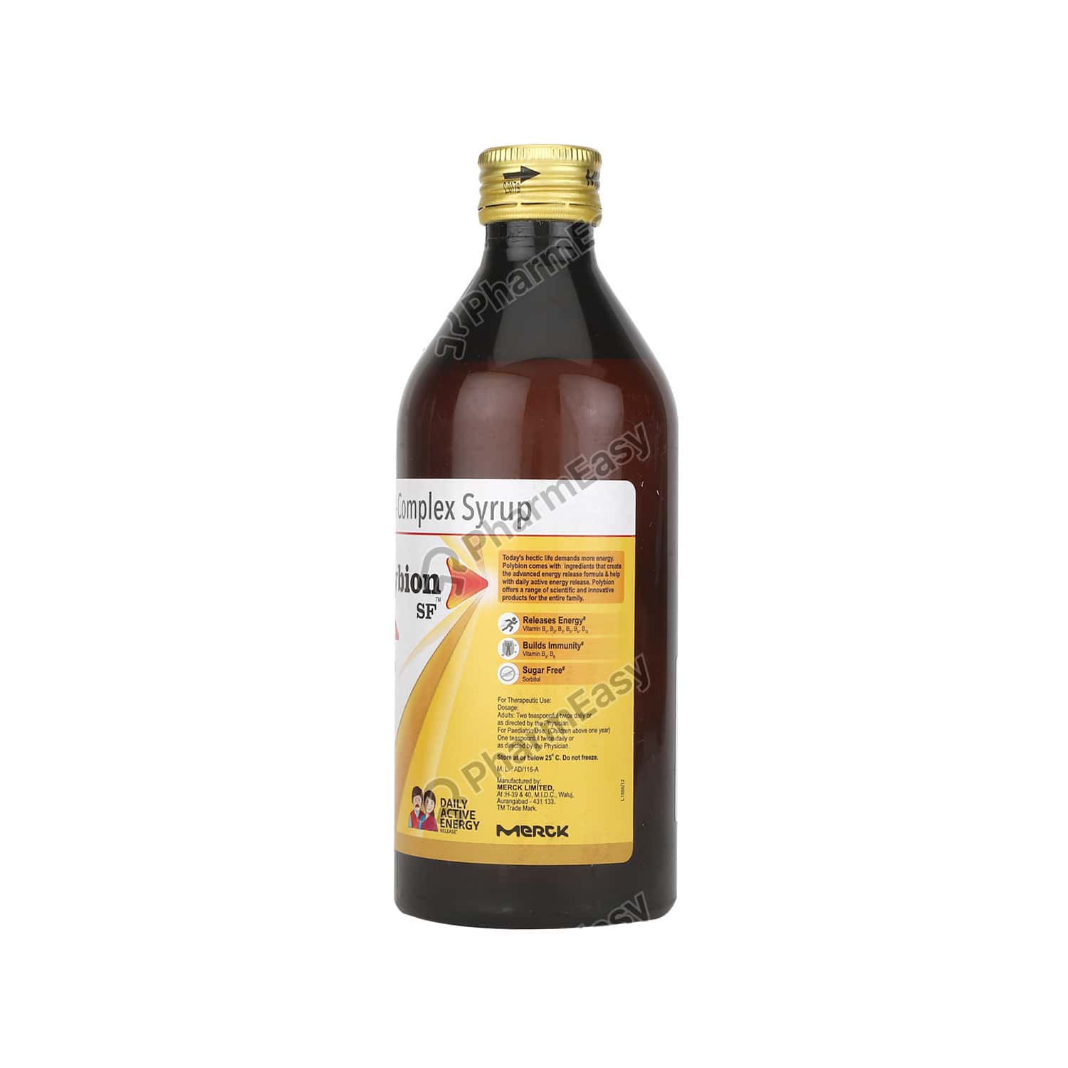Polybion Sf Complete Bottle Of 400ml Syrup