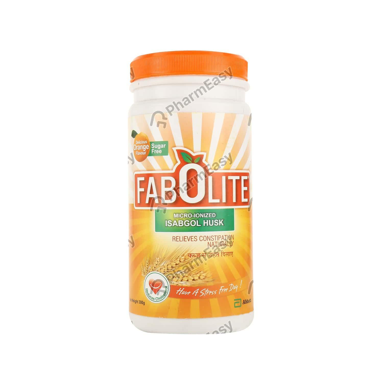 Fabolite Orange Flavour Sugar Free Powder 300gm
