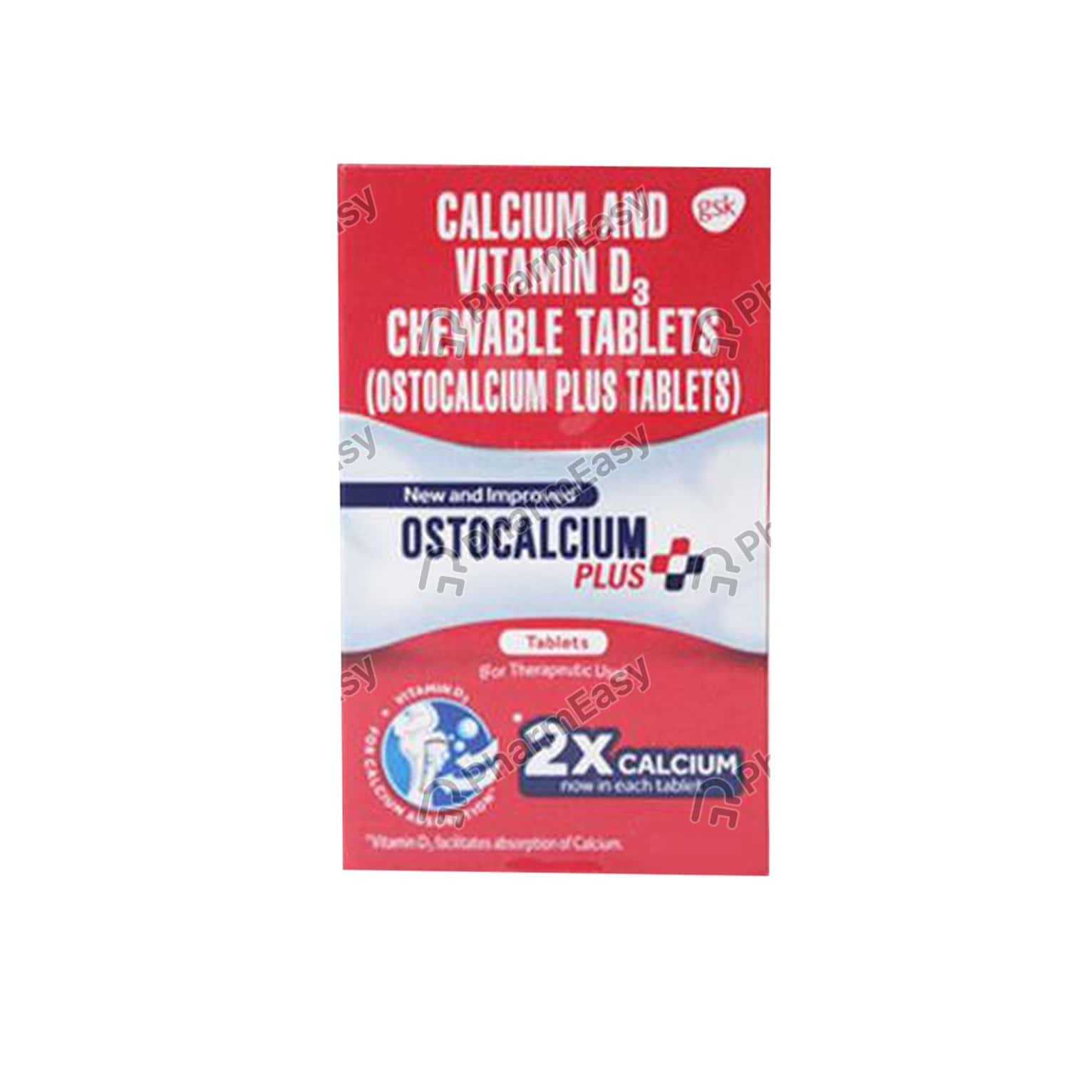 Ostocalcium Plus Bottle Of 30 Tablets