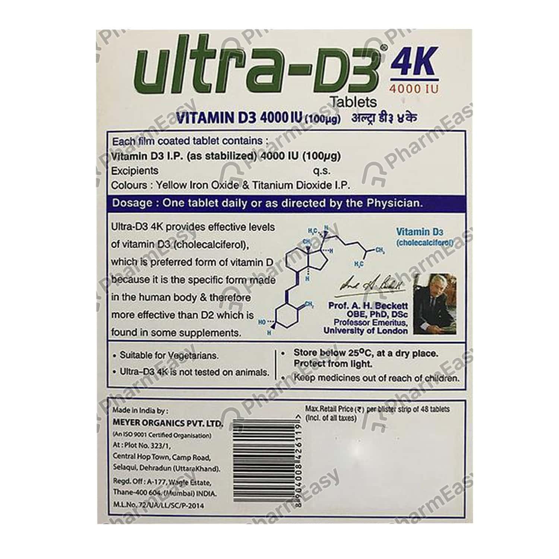 Ultra D3 4k Tab 48's