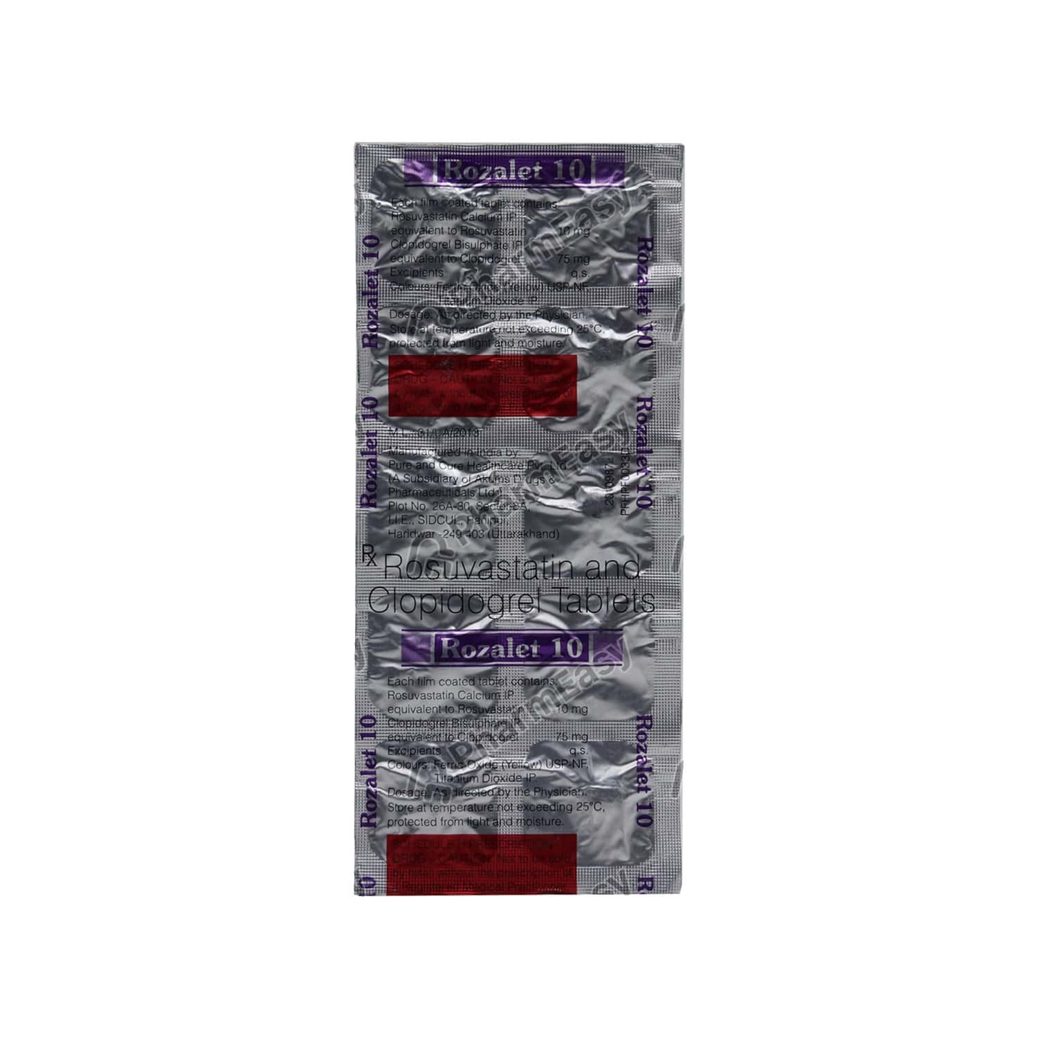 Rozalet 10mg Tablet 10's