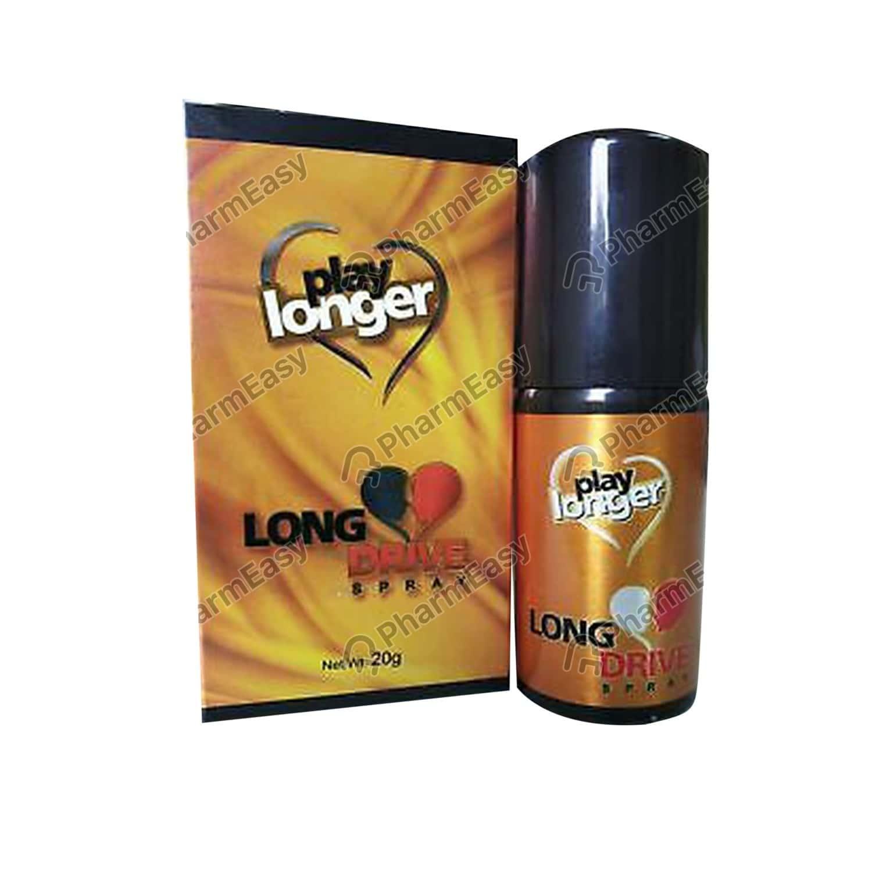 Long Drive Play Longer Bottle Of 20gm Spray