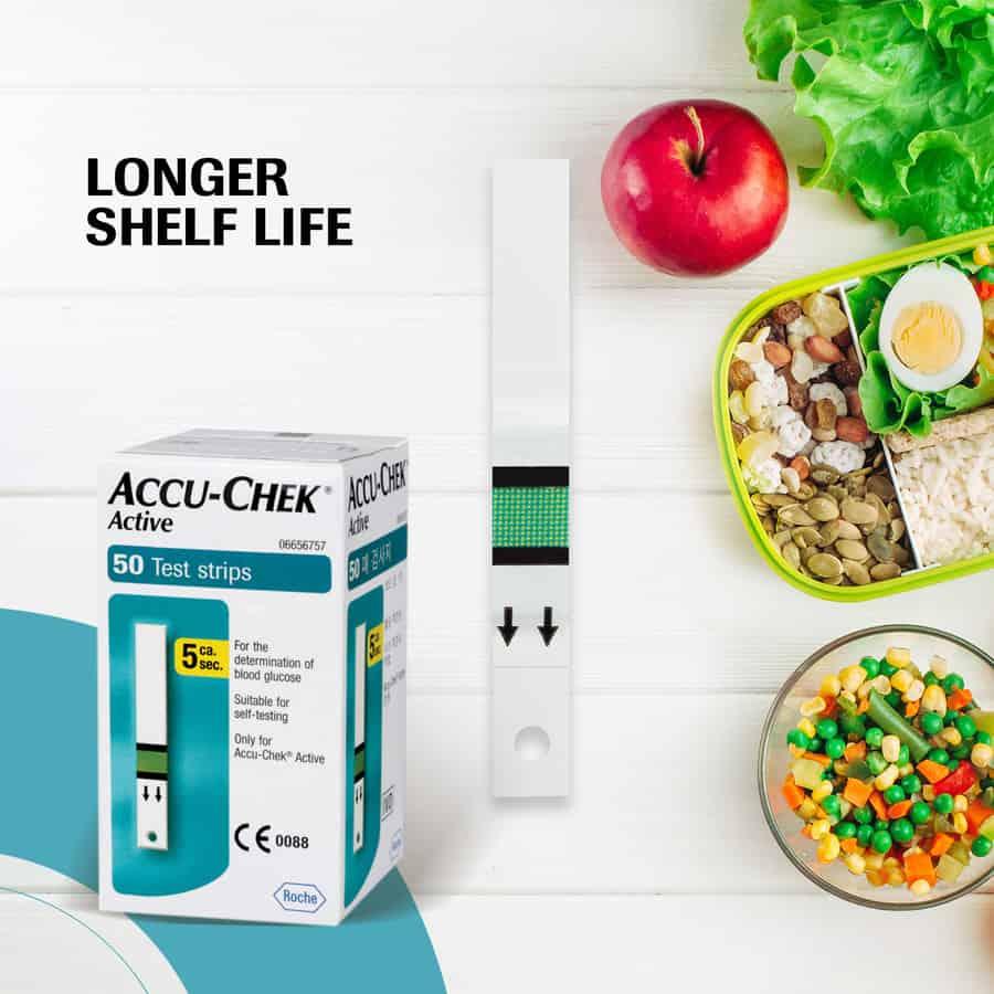 Accu-chek Active 50 Strips