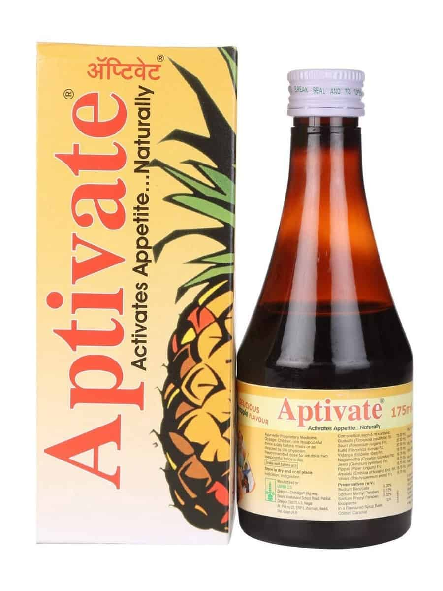 Aptivate Syrup Pineaplle Flavour - 175ml