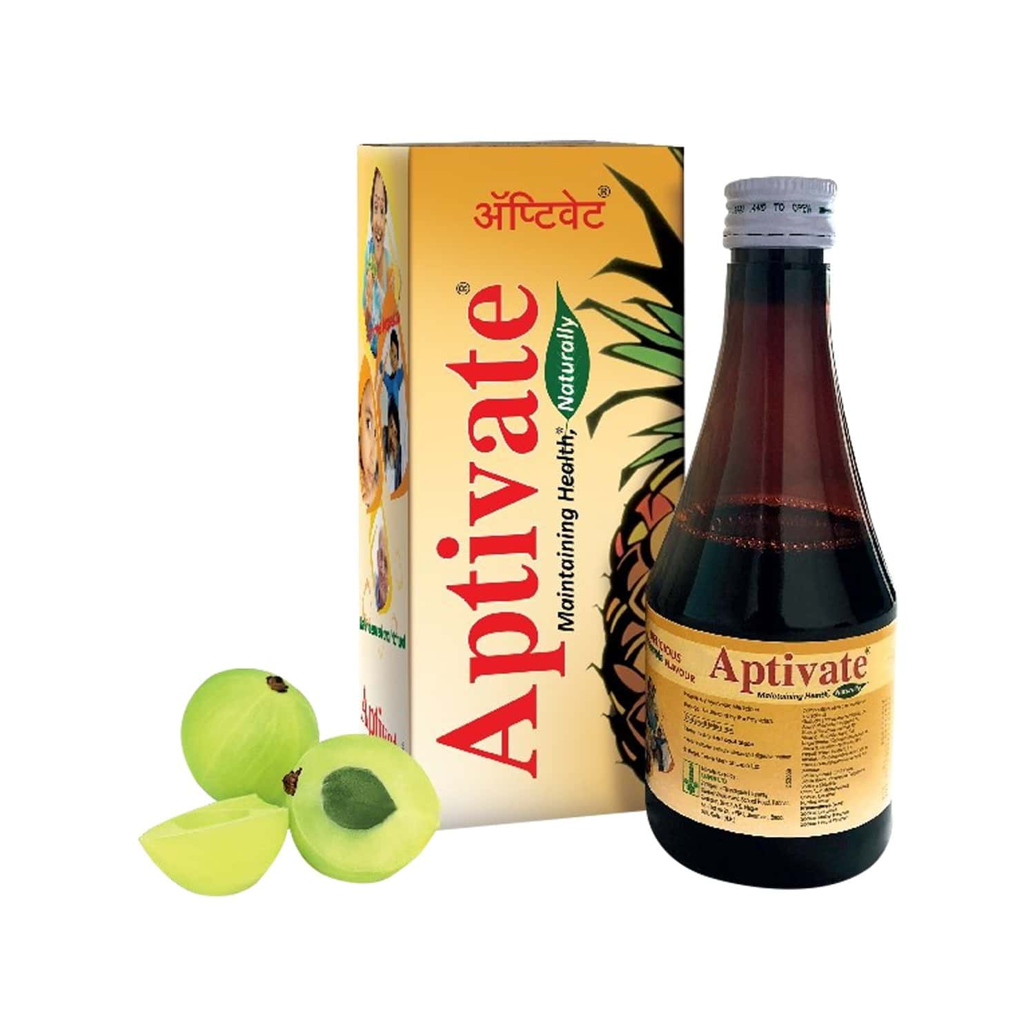 Buy Aptivate Pineaplle Appetite Stimulating Syrup Bottle Of 450 Ml Online Get Upto 60 Off At Pharmeasy