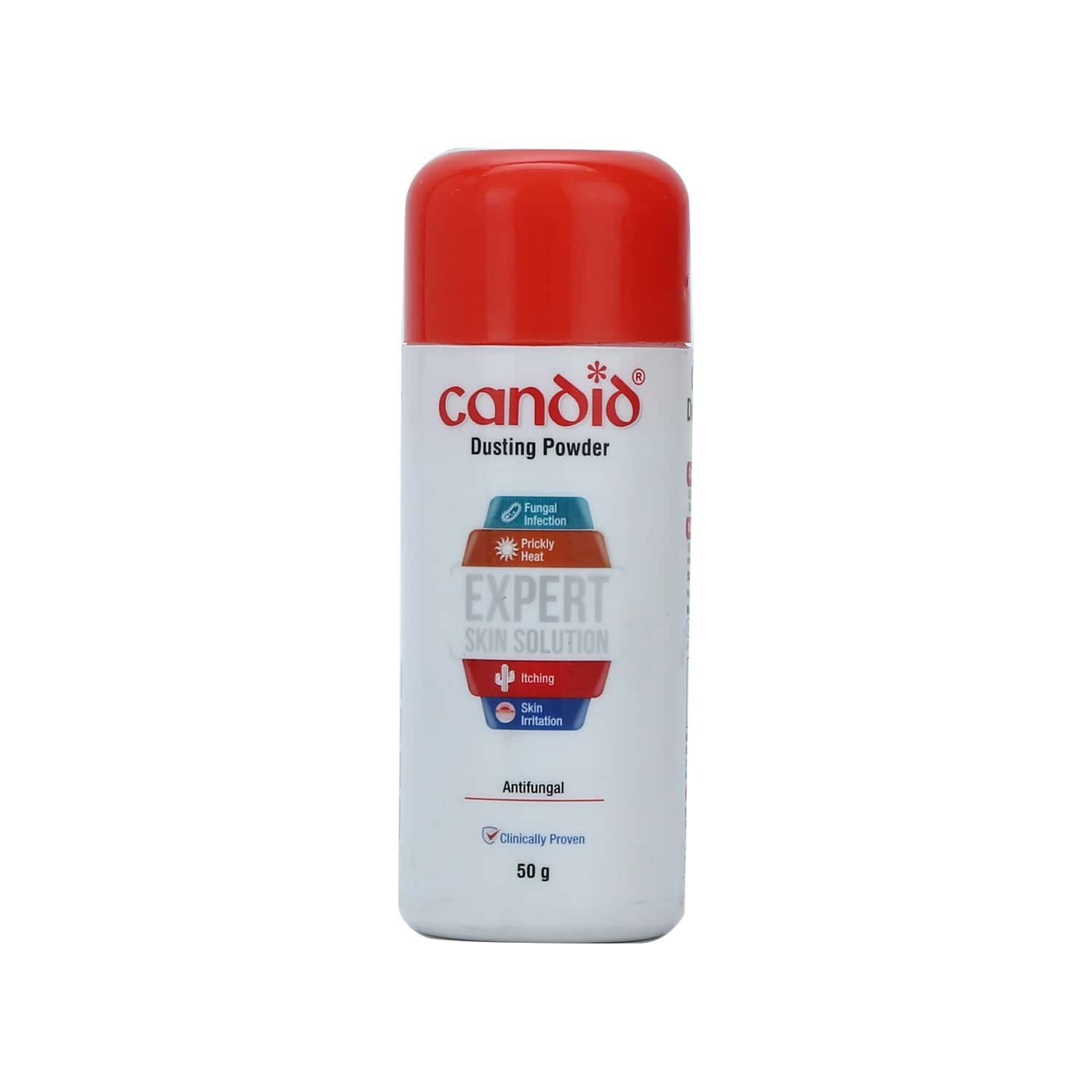 Candid Dusting  Anti Fungal Powder  Bottle Of 50 G