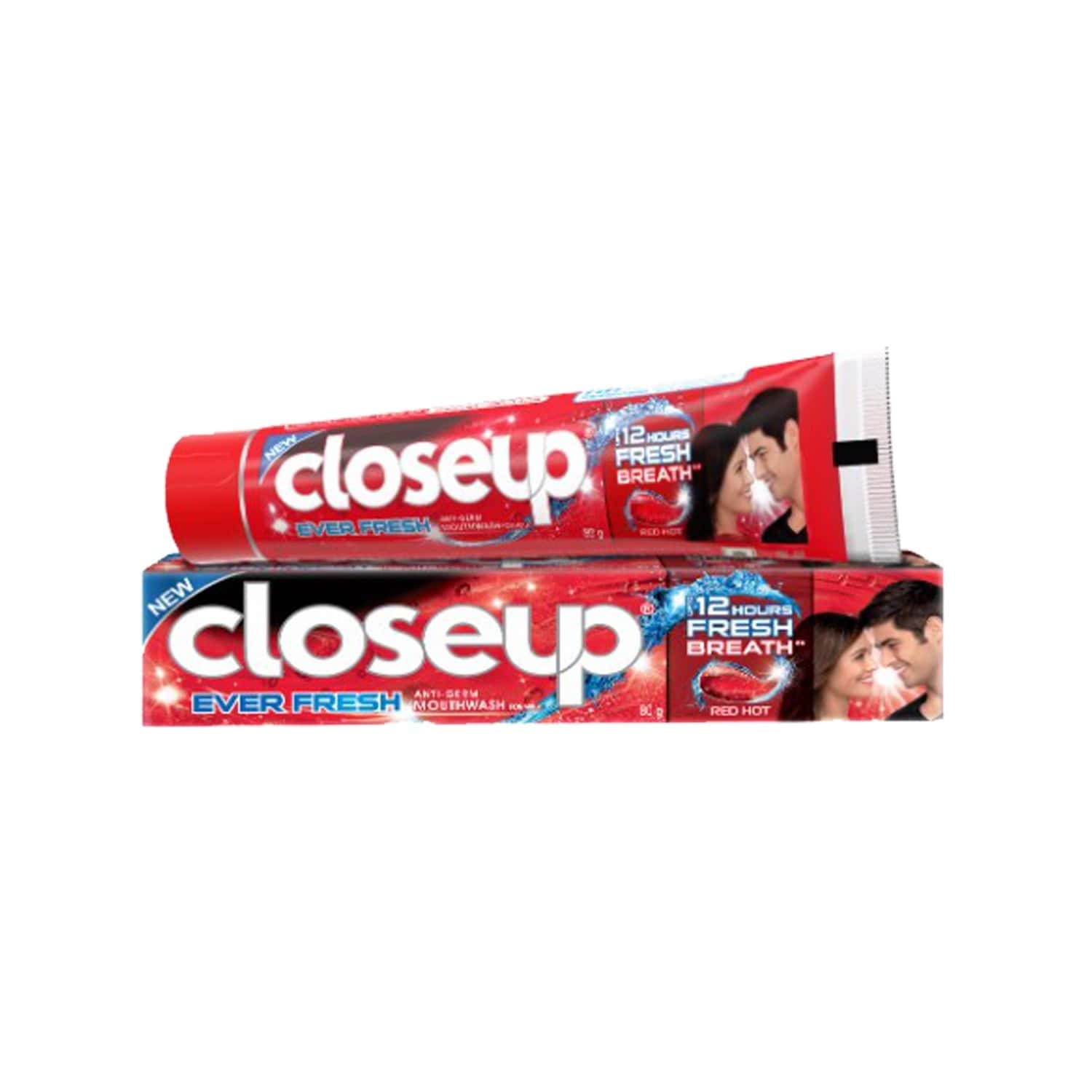 Closeup Red Hot Gel Toothpaste, Ever Fresh 80 Gm