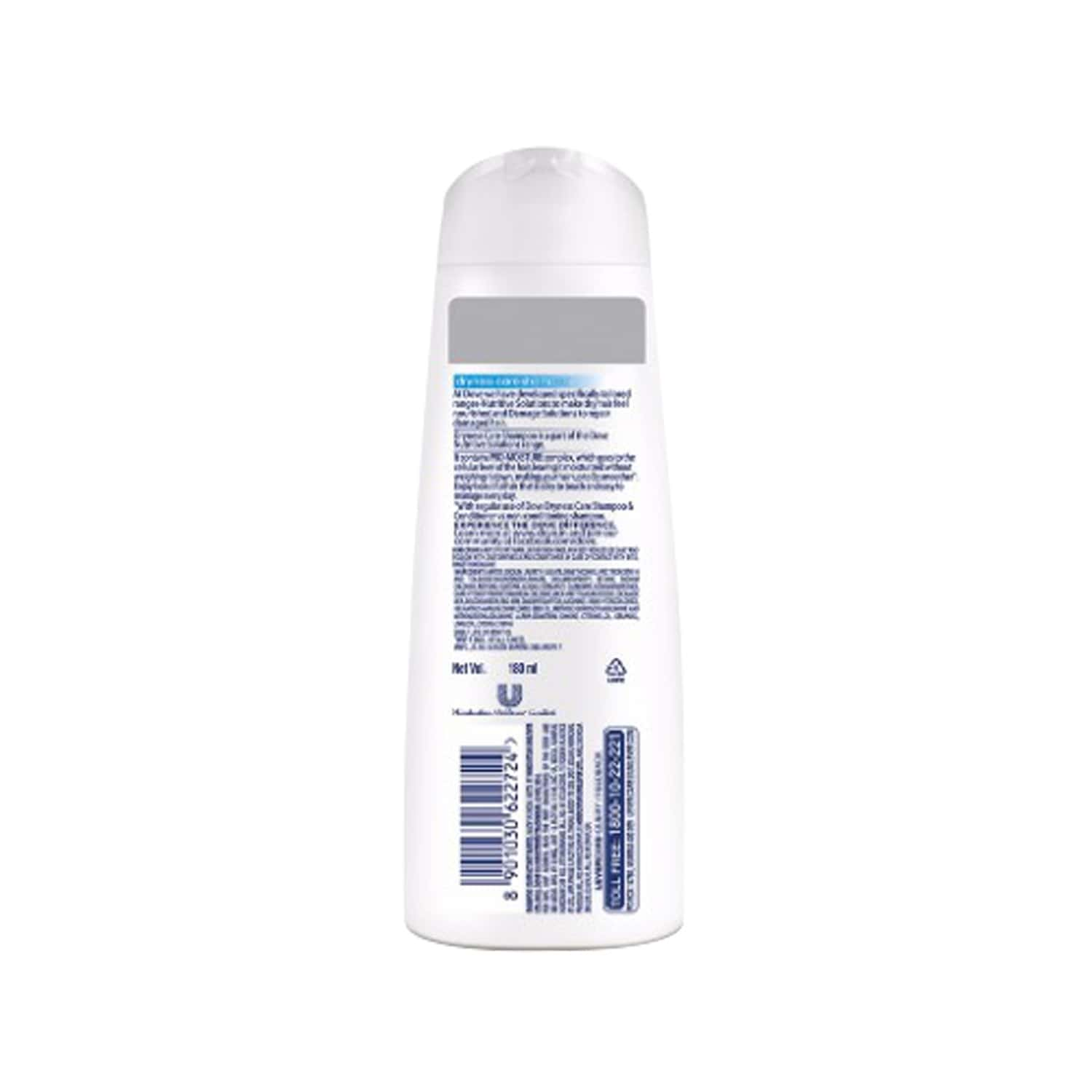 Dove Dryness Care  Shampoo  Bottle Of 180 Ml