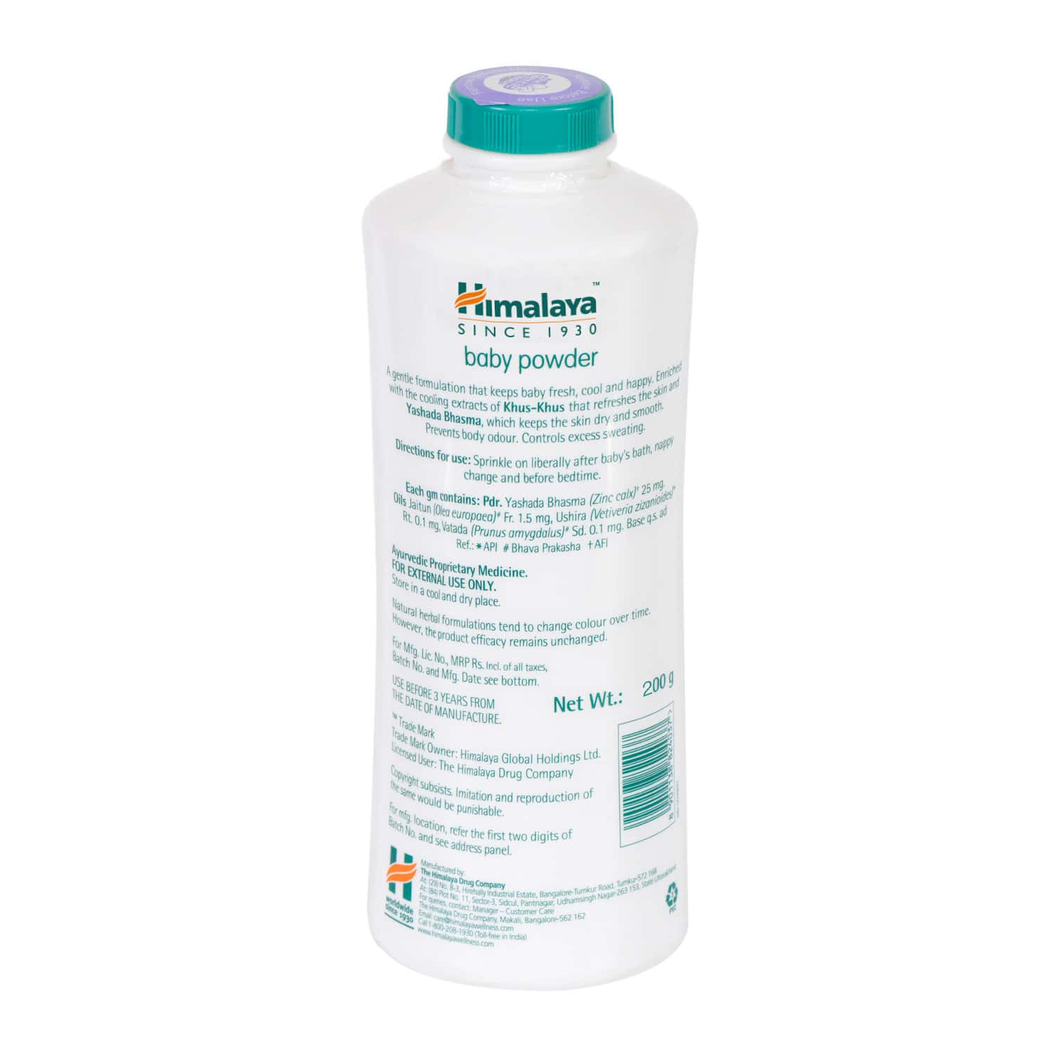 Himalaya Baby Powder Bottle Of 200 G
